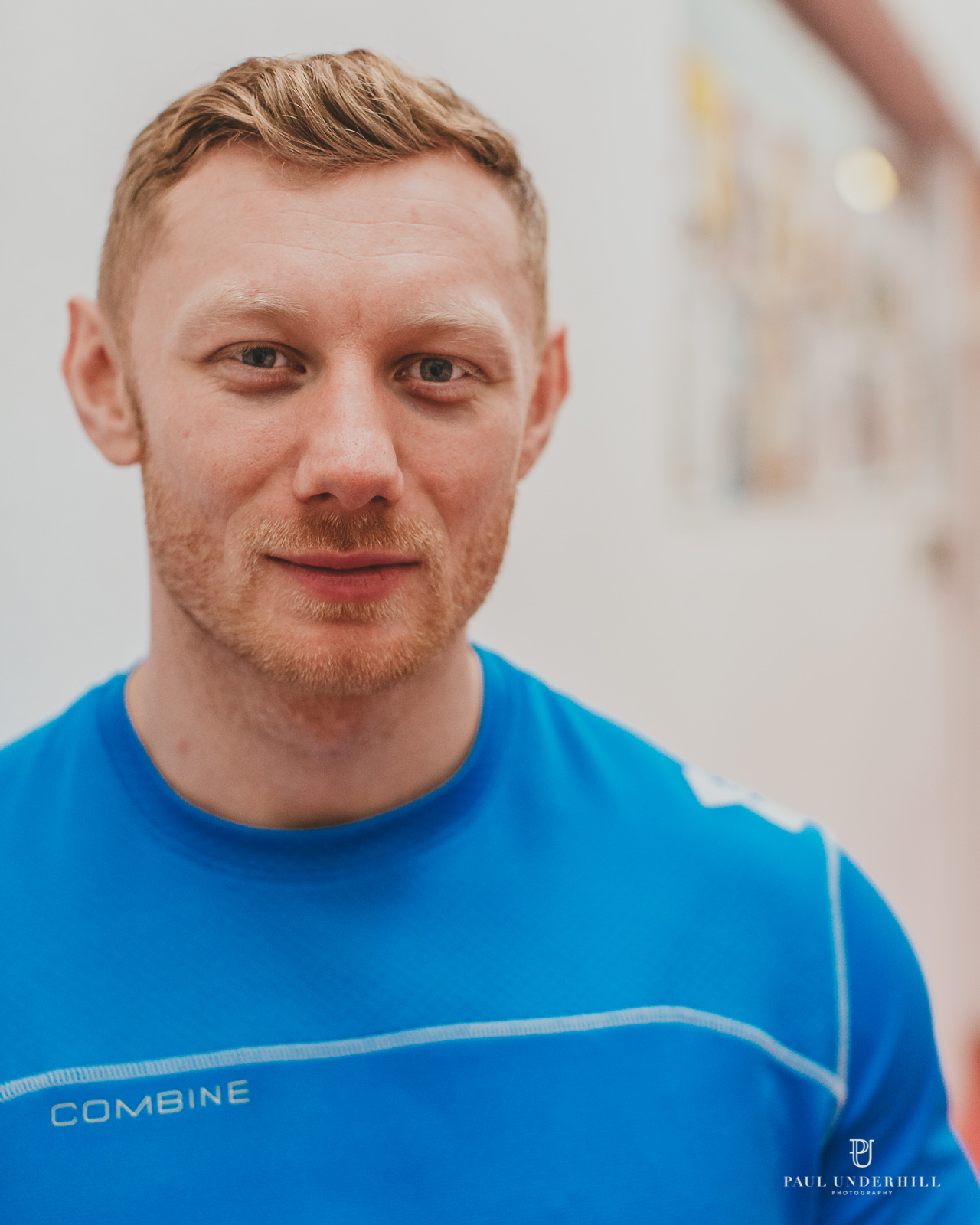 Personal trainer London portrait