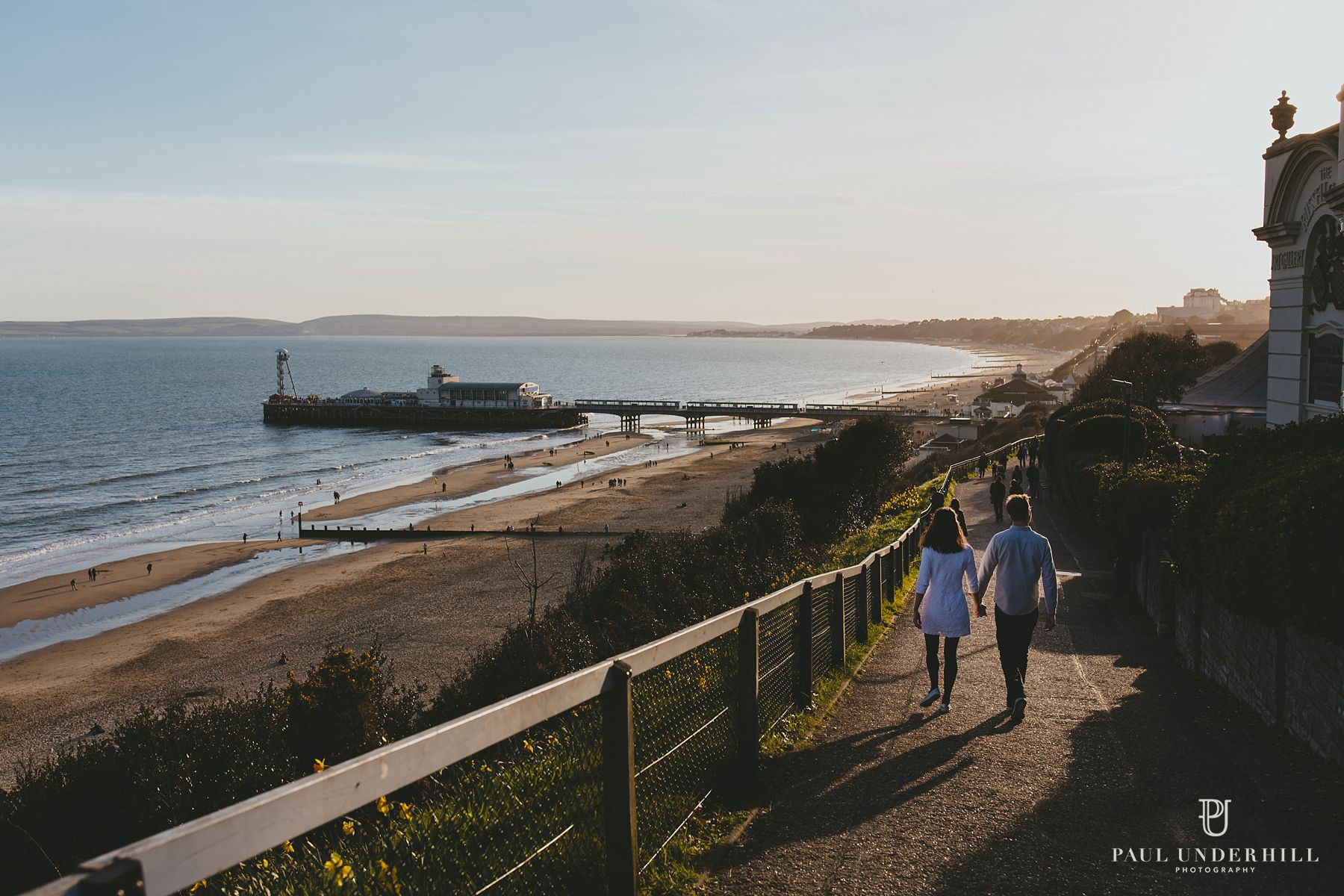 Couple portraits in Dorset