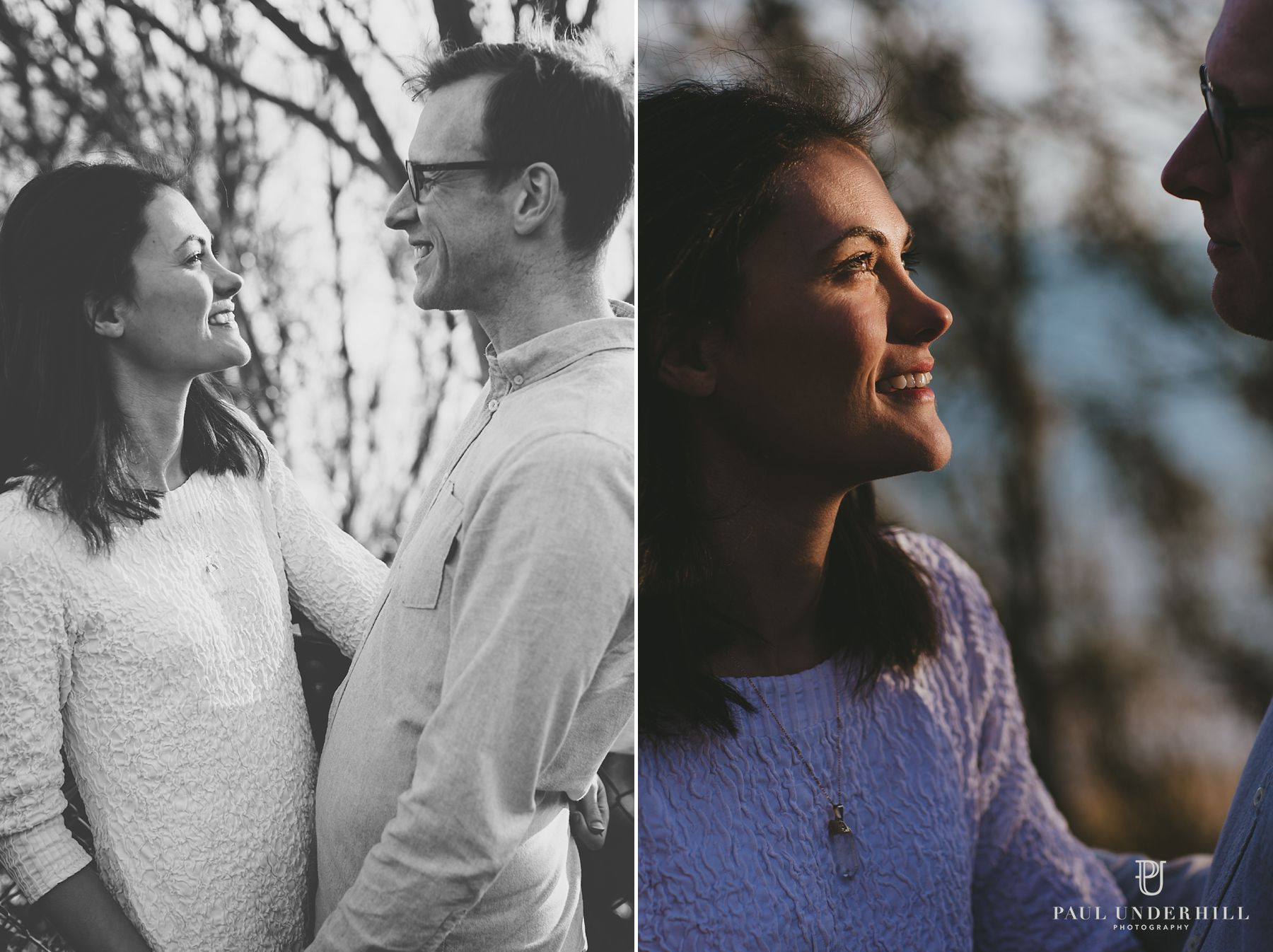 Creative portraits wedding couple Bournemouth