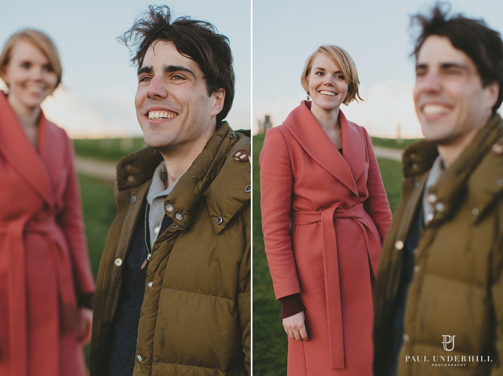 Artistic couple portraits