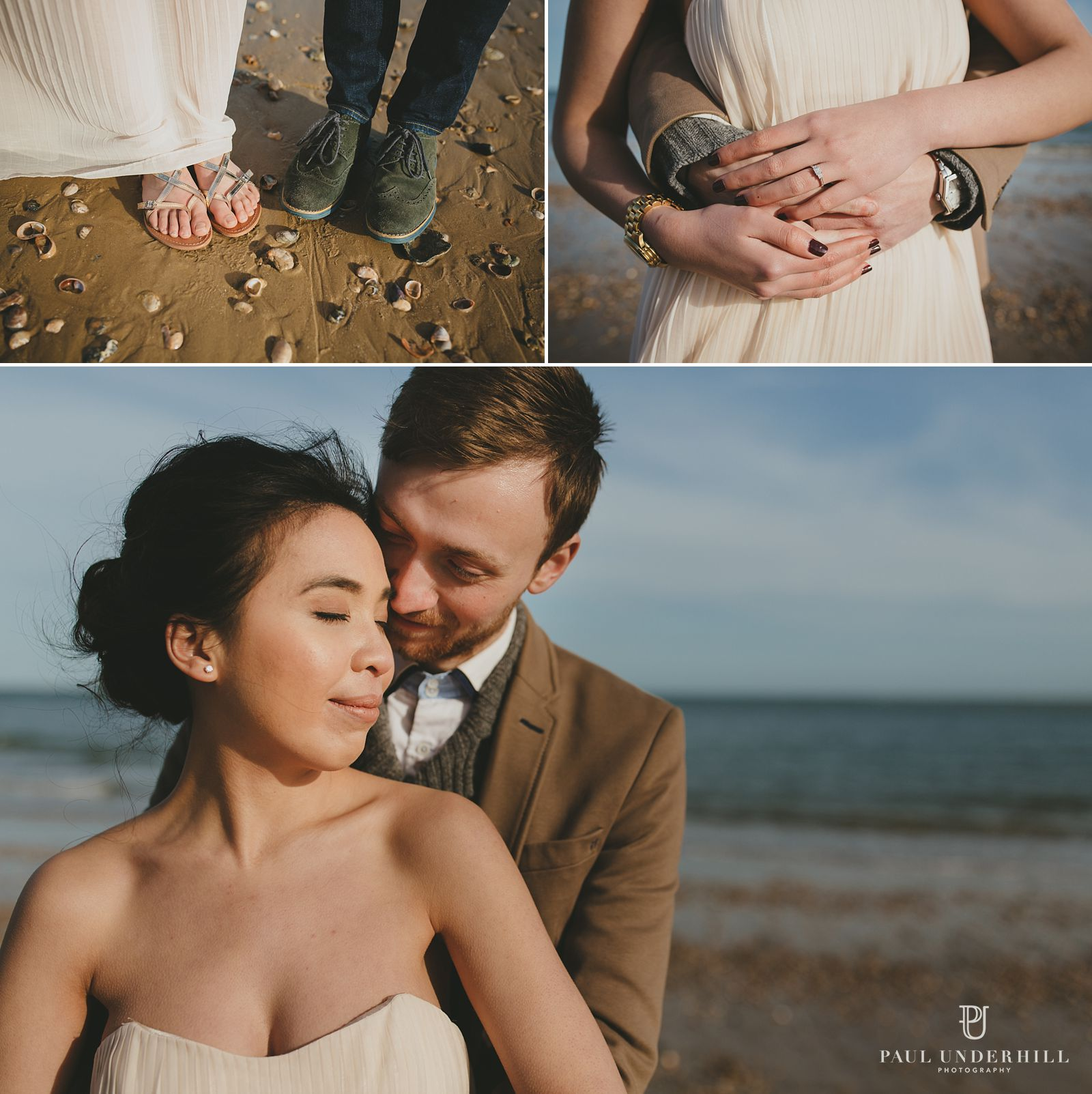 Creative pre-wedding photography Poole