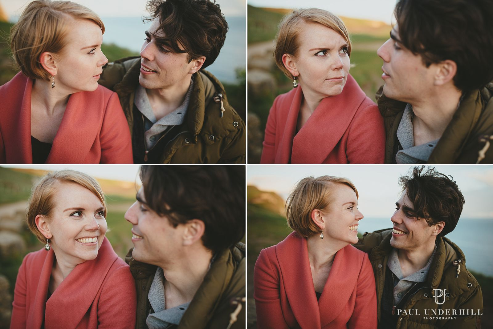 Fun couple portraits
