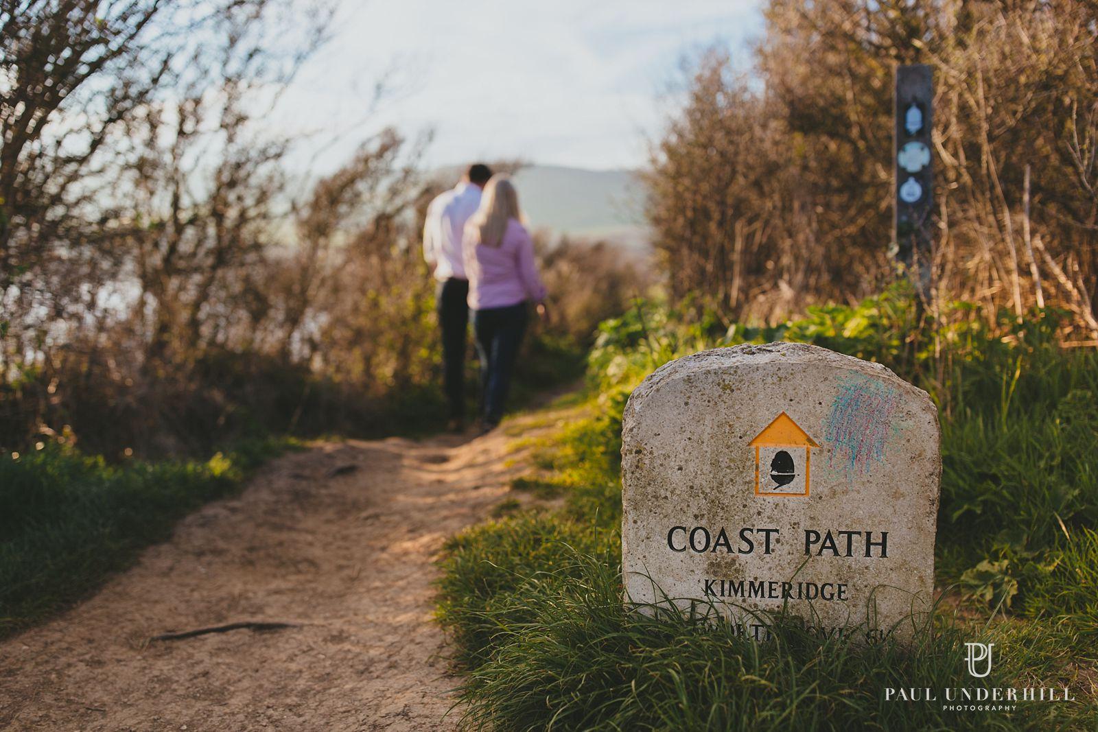 Kimmeridge walks coastal path