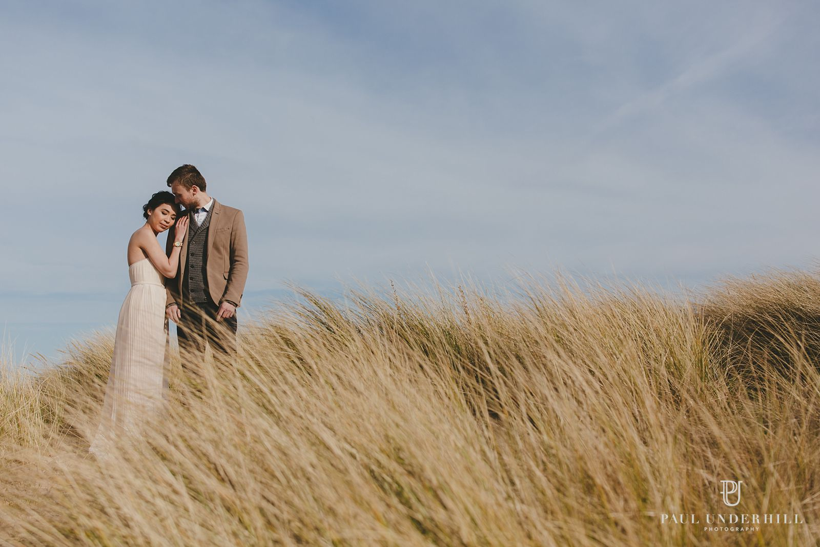 Pre-wedding shoot in Sandbanks