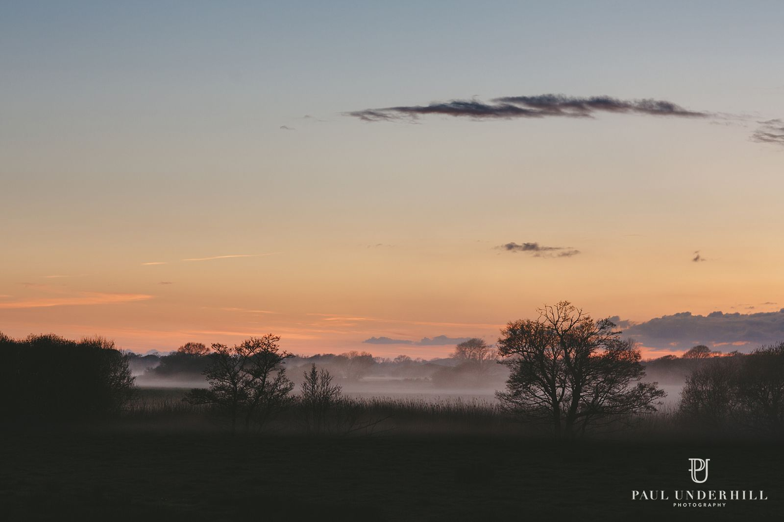 Sunset over Lulworth