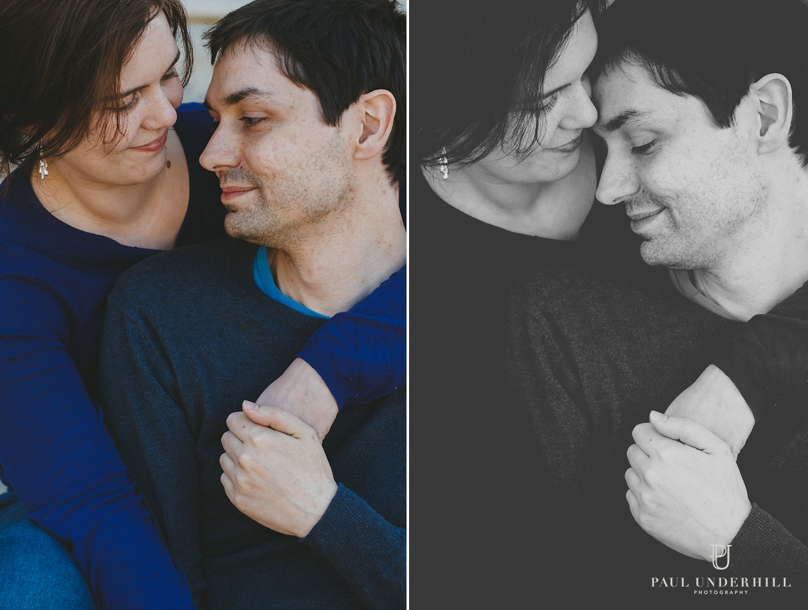 Couple portraits in Bournemouth