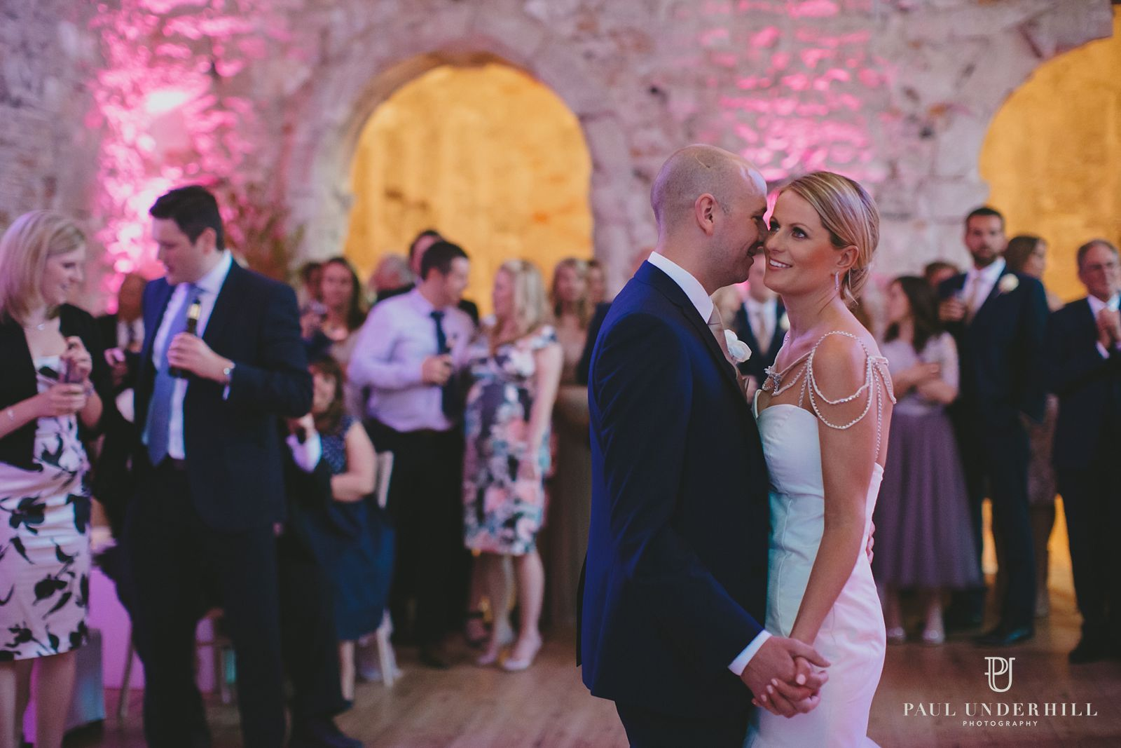 First dance Lulworth Castle