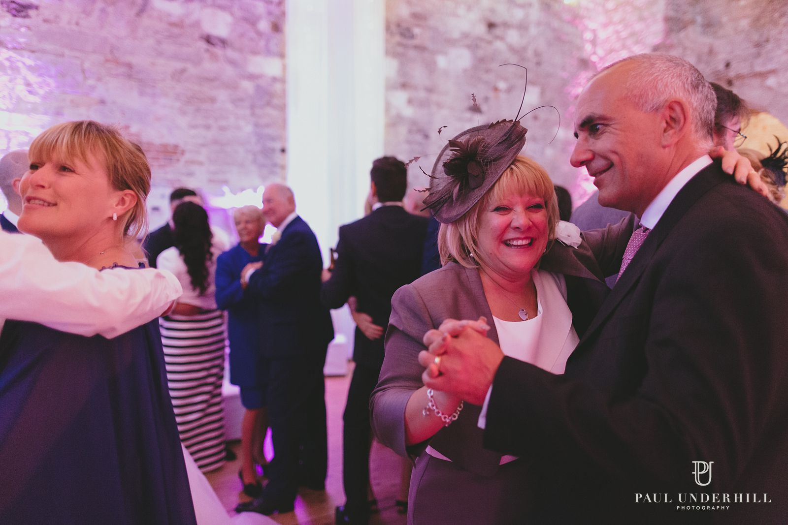 Guests dancing Lulworth Castle