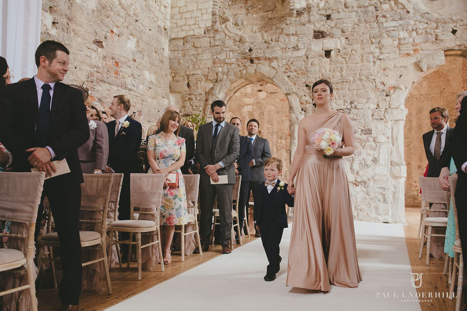 Lulworth Castle marriage ceremony