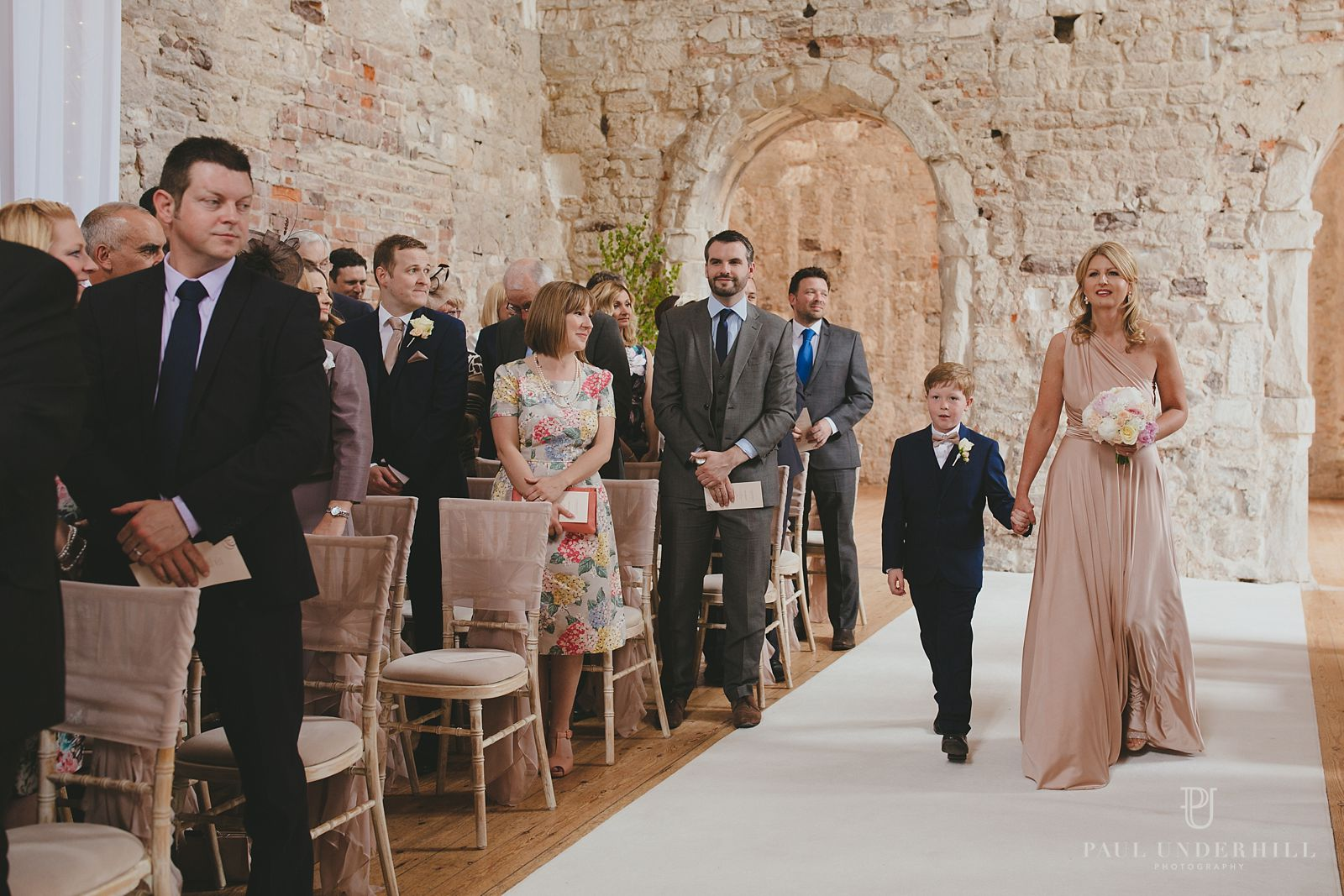 Lulworth Castle wedding ceremony