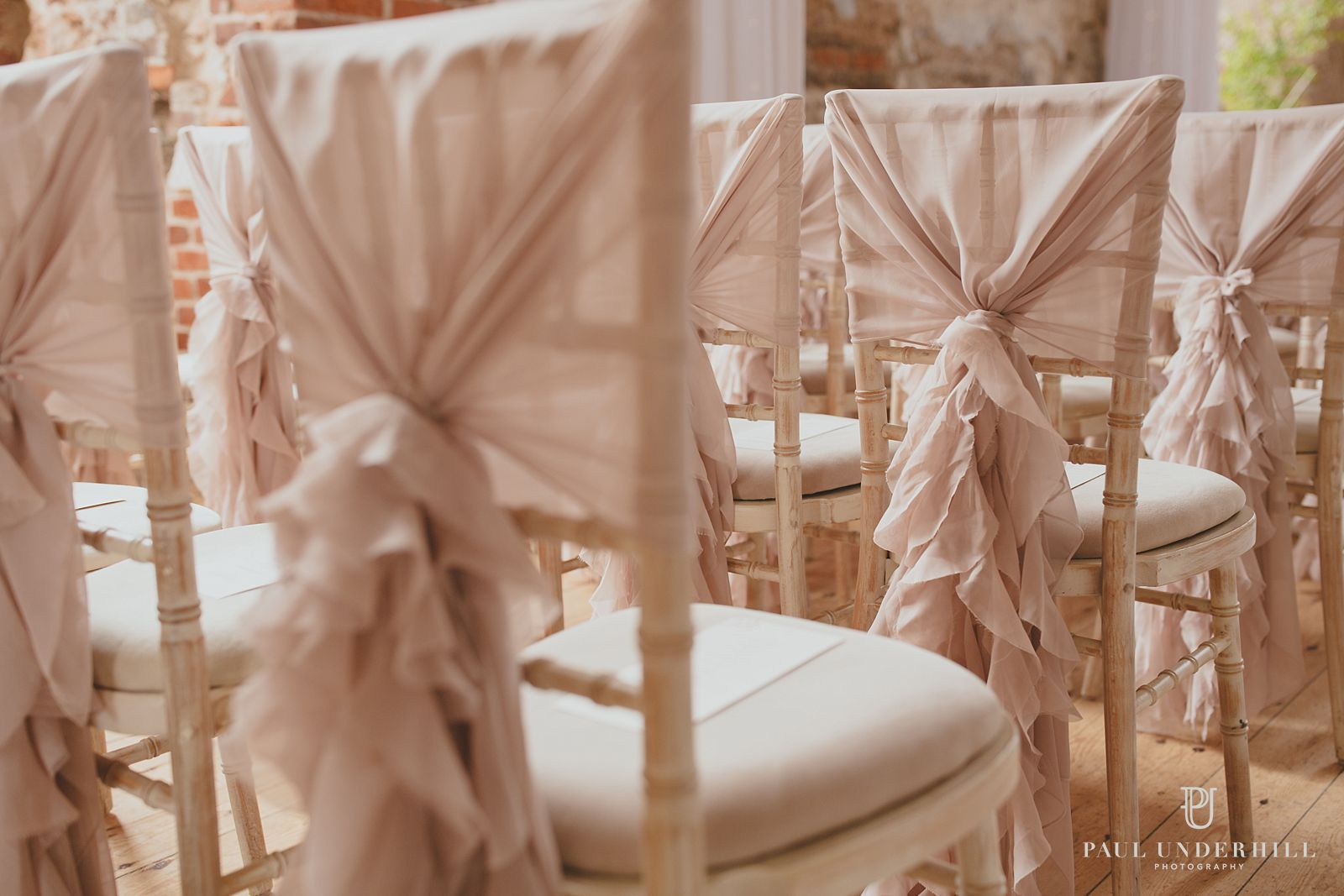 Lulworth Castle wedding chairs
