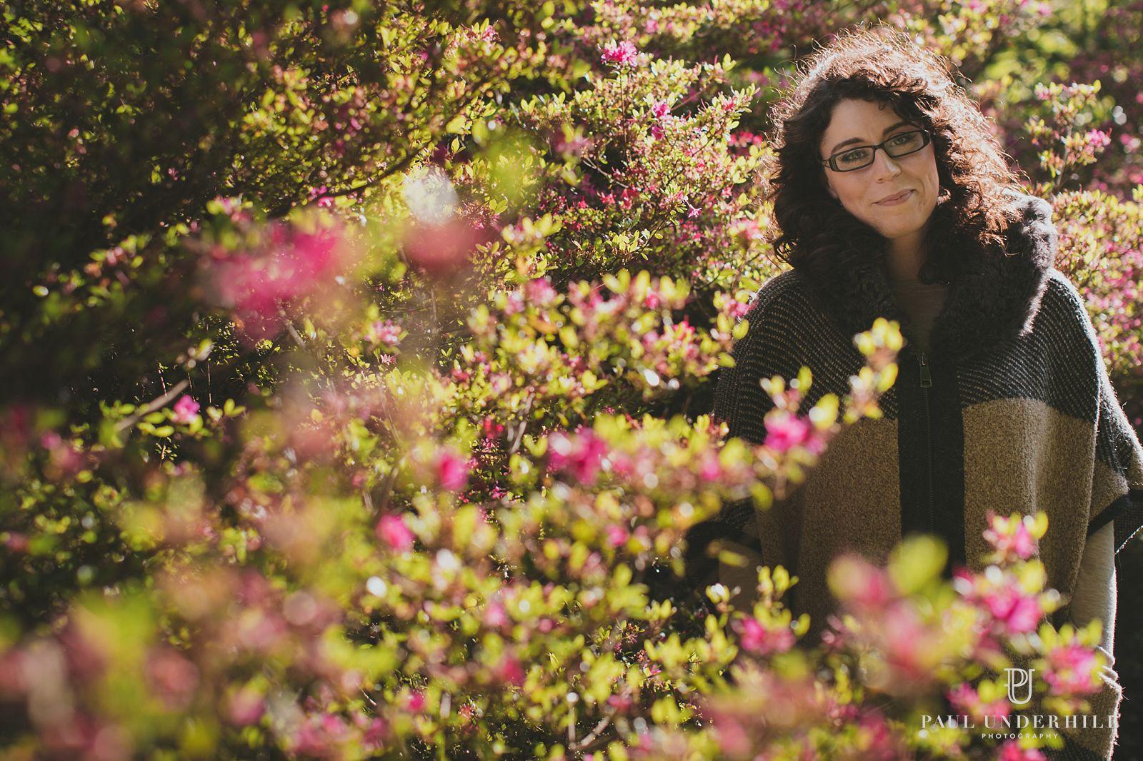 Sunny portraits Bournemouth gardens