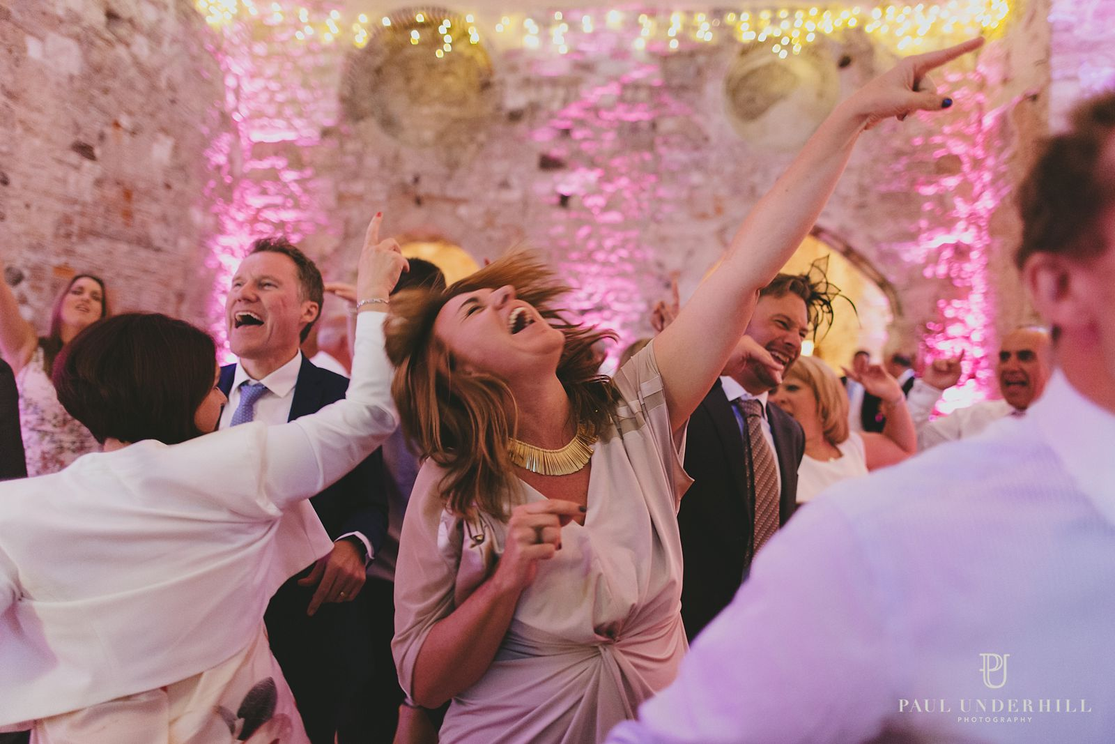 Wedding celebrations Lulworth castle