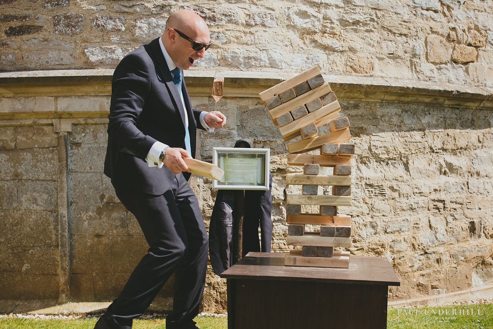 Wedding games at Lulworth Castle