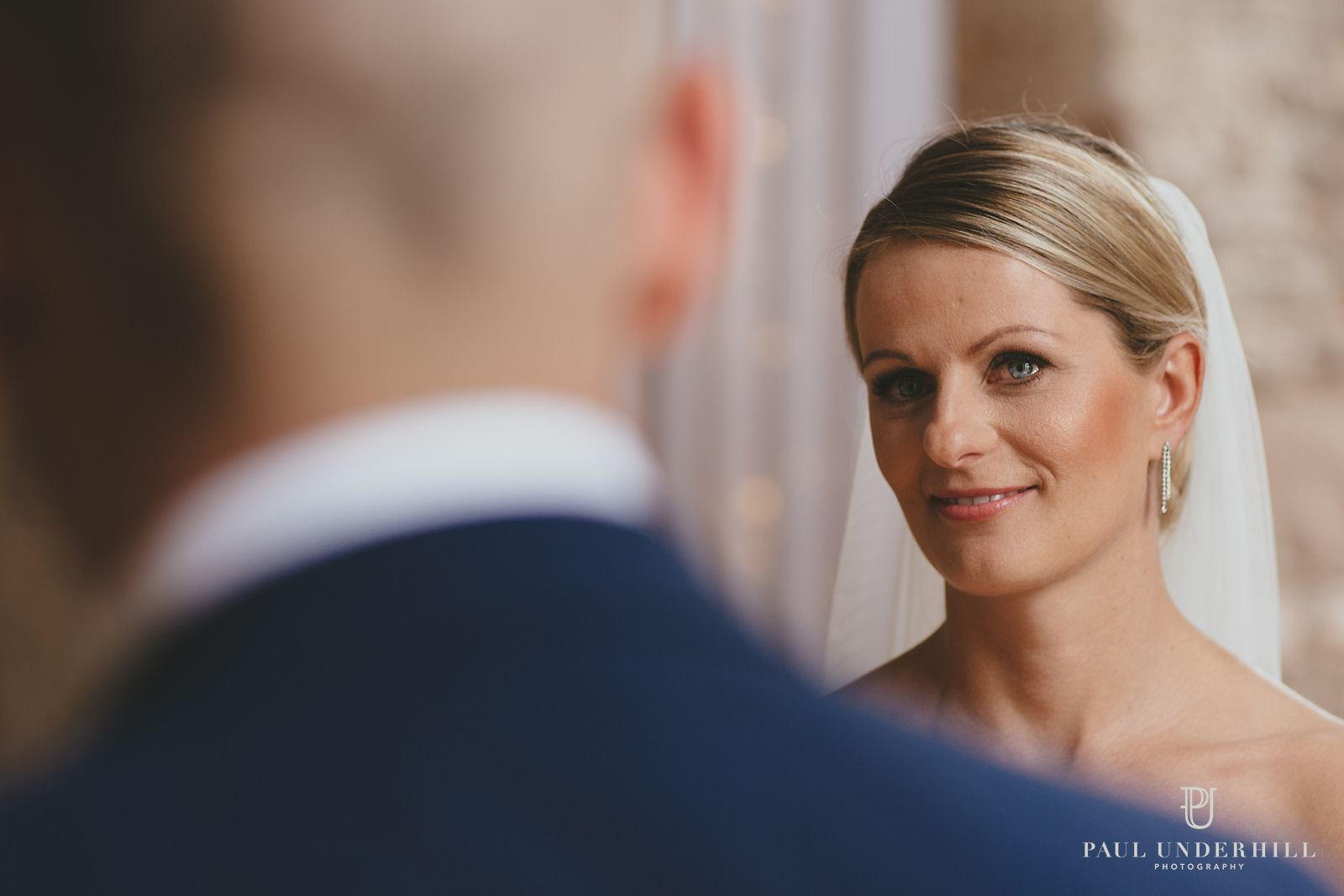 Wedding photography bride at Lulworth