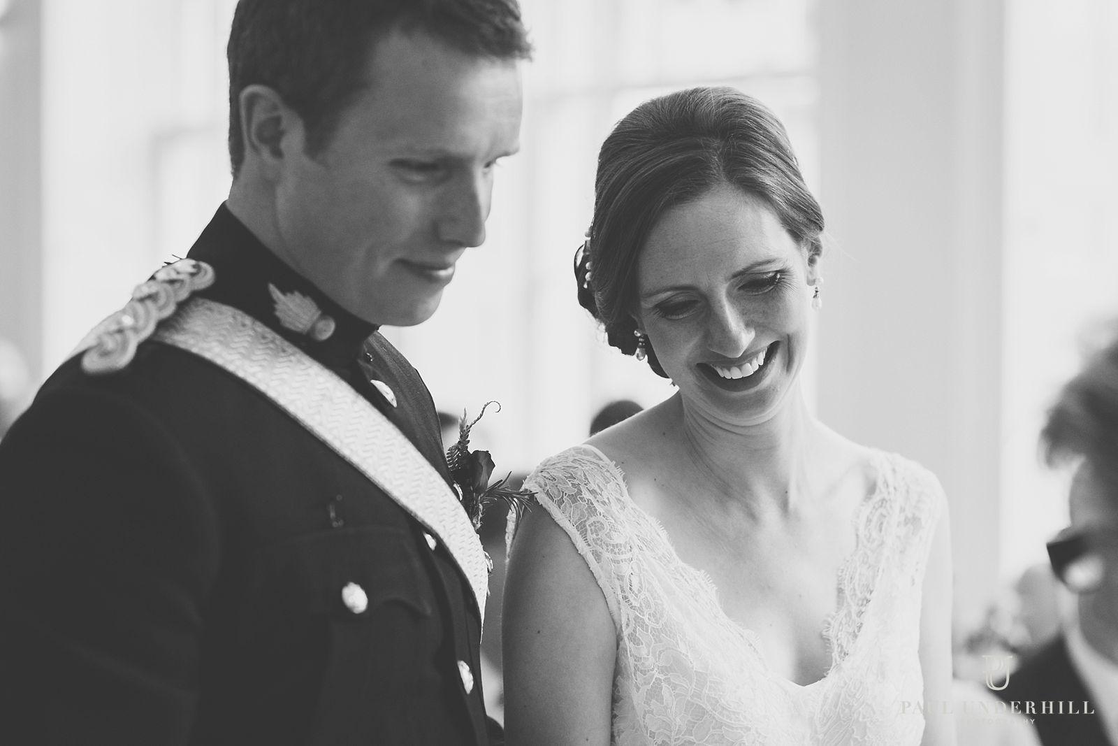 Bride and groom Dorset wedding
