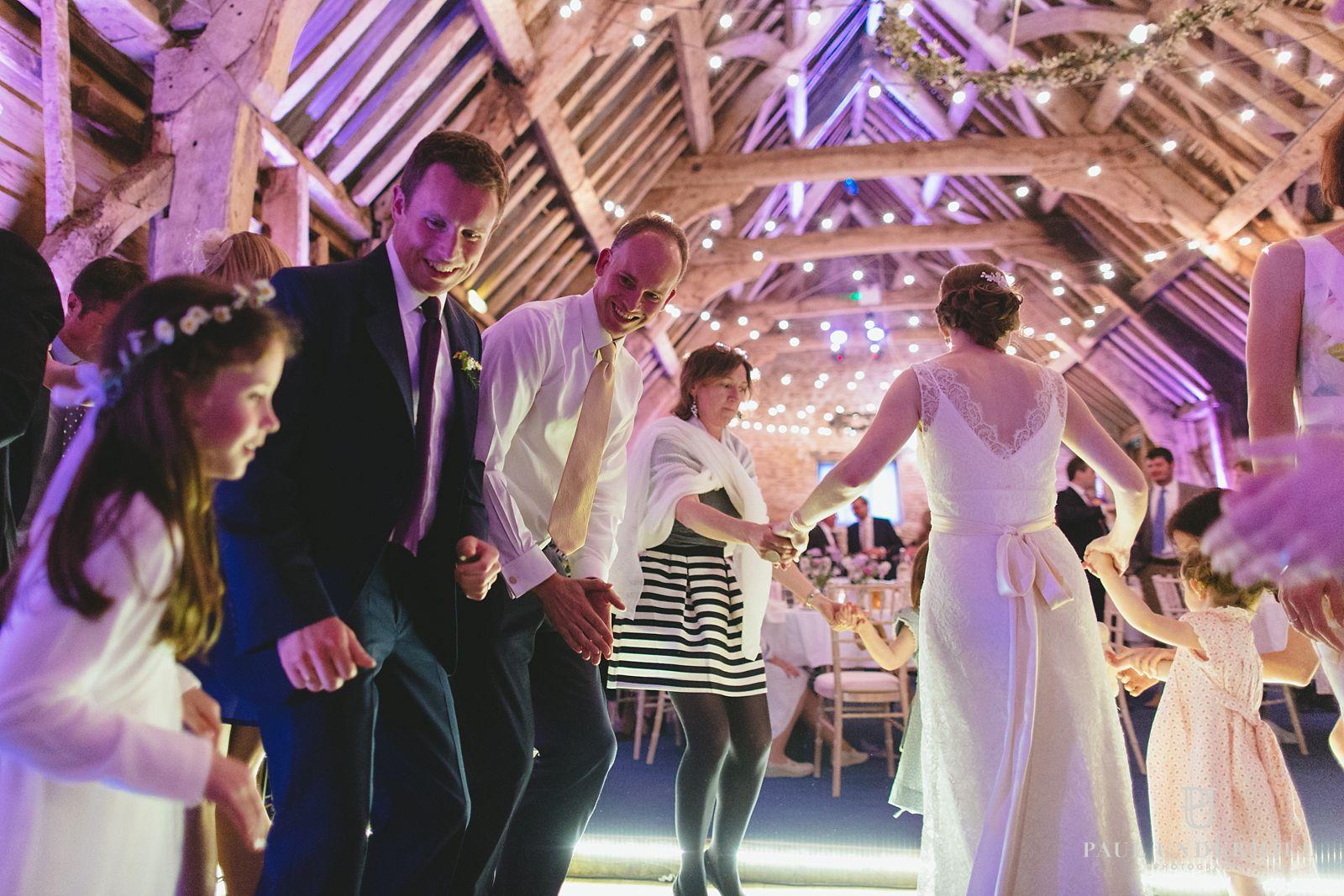 Dorset barn wedding reception