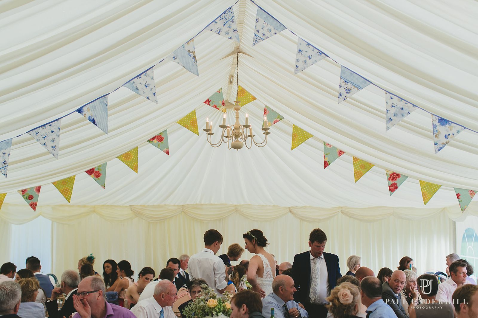 Dorset wedding marquee
