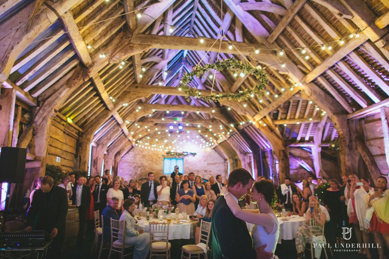 First dance Stockbridge Farm Barn