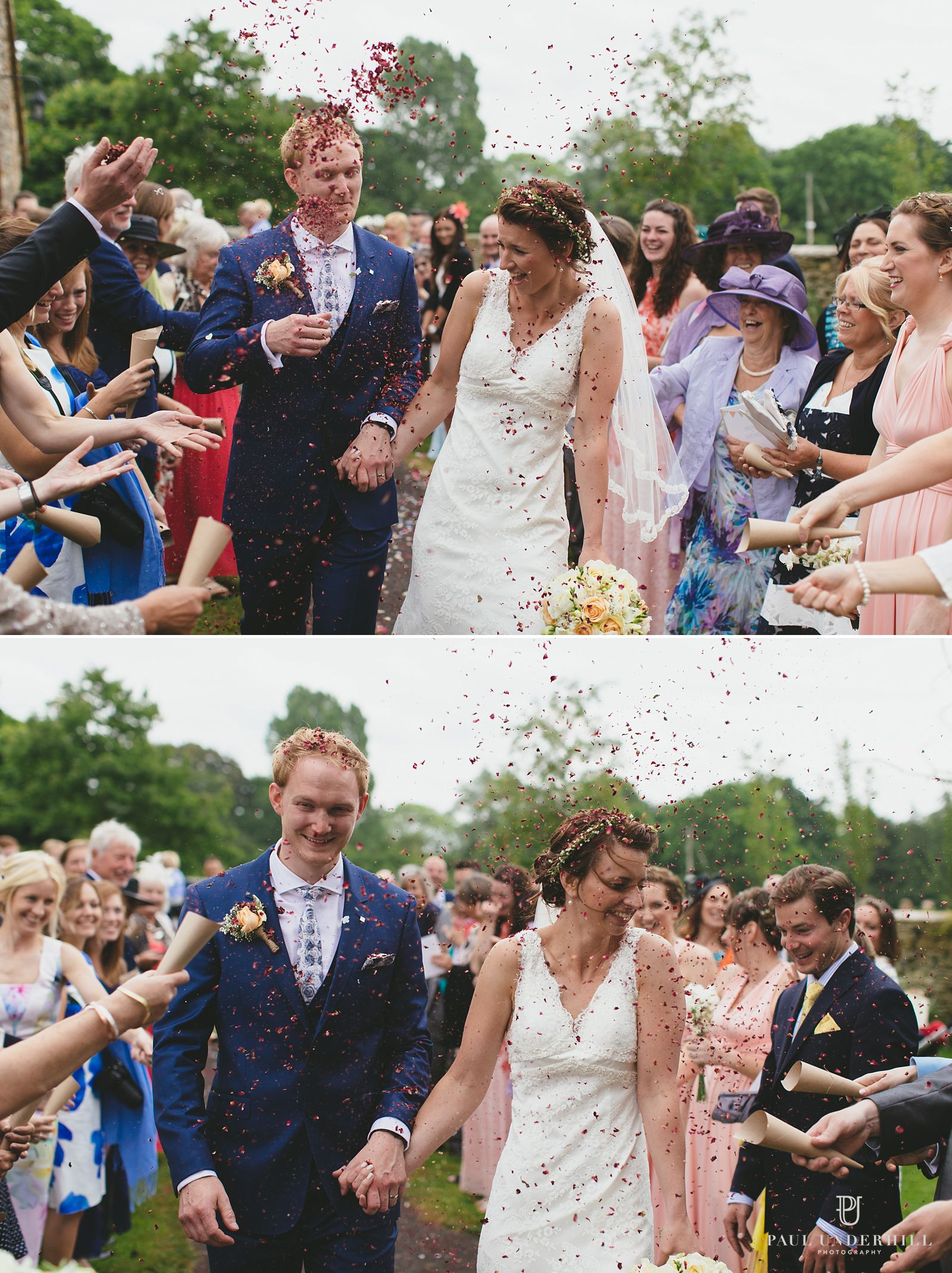 Fun moments at Dorset wedding