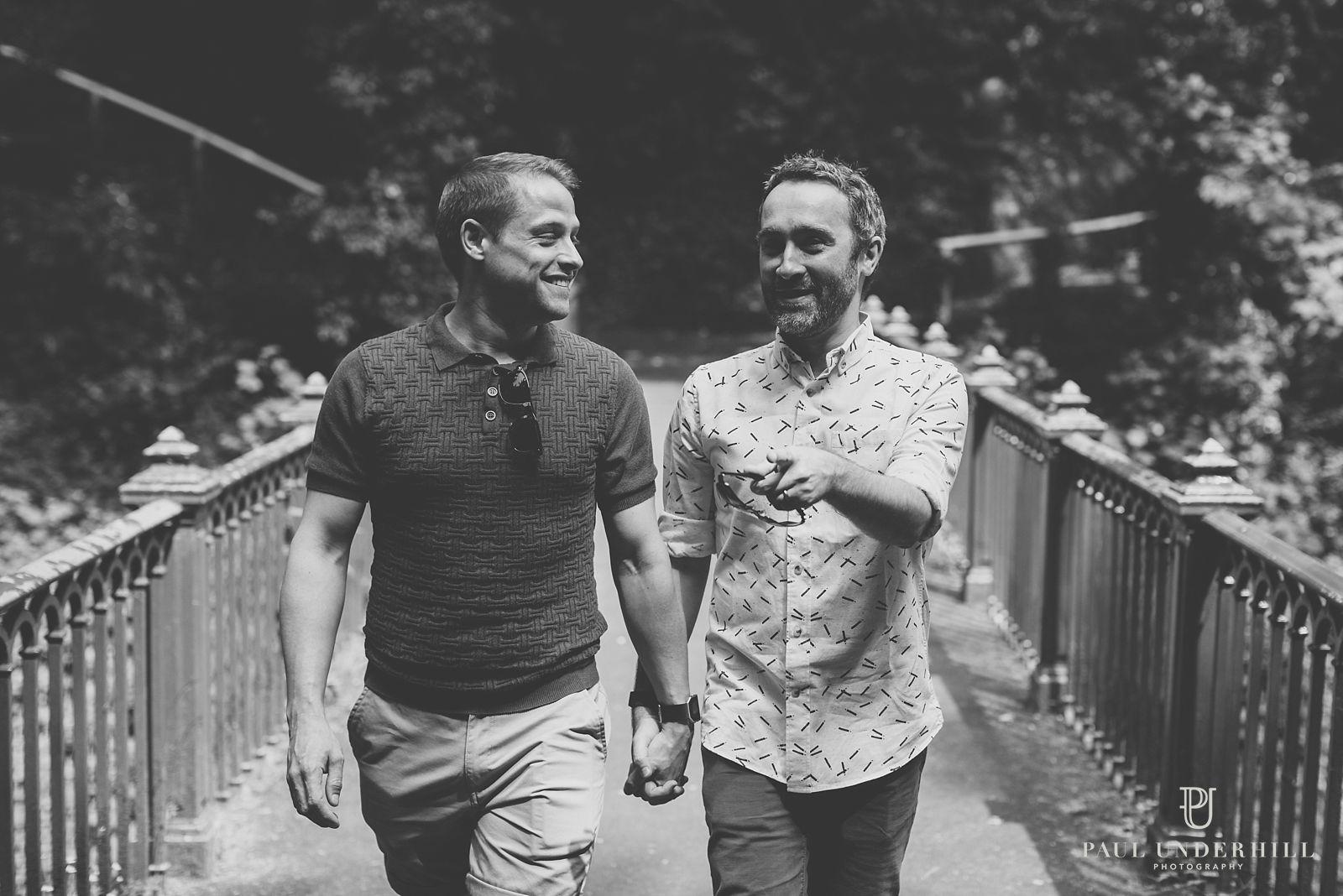 Gay photographer London wedding