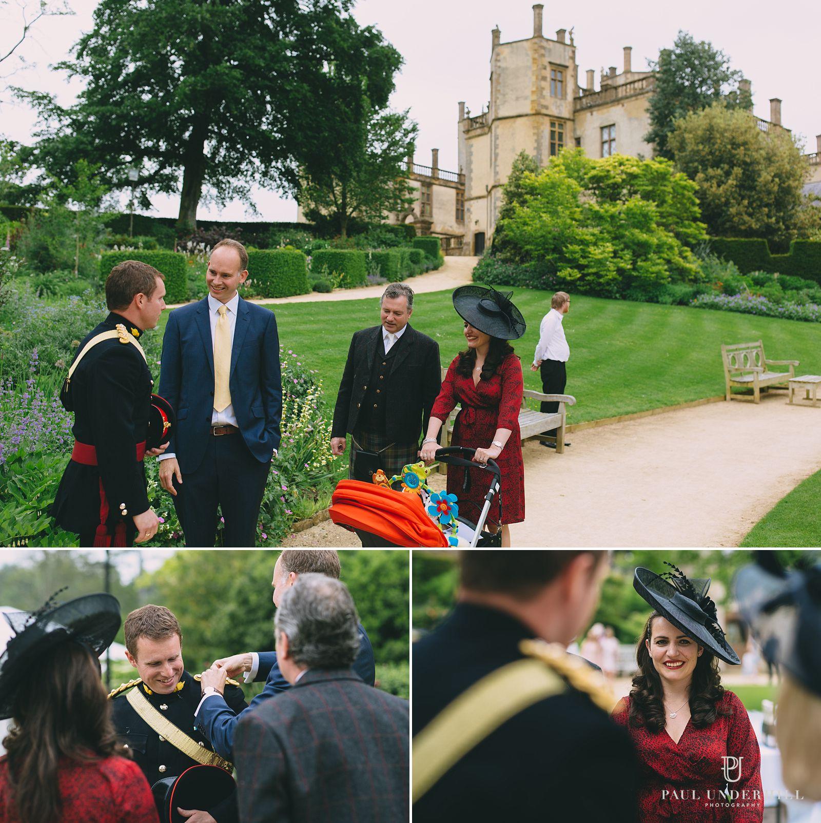 Guests arrive Sherborne Castle