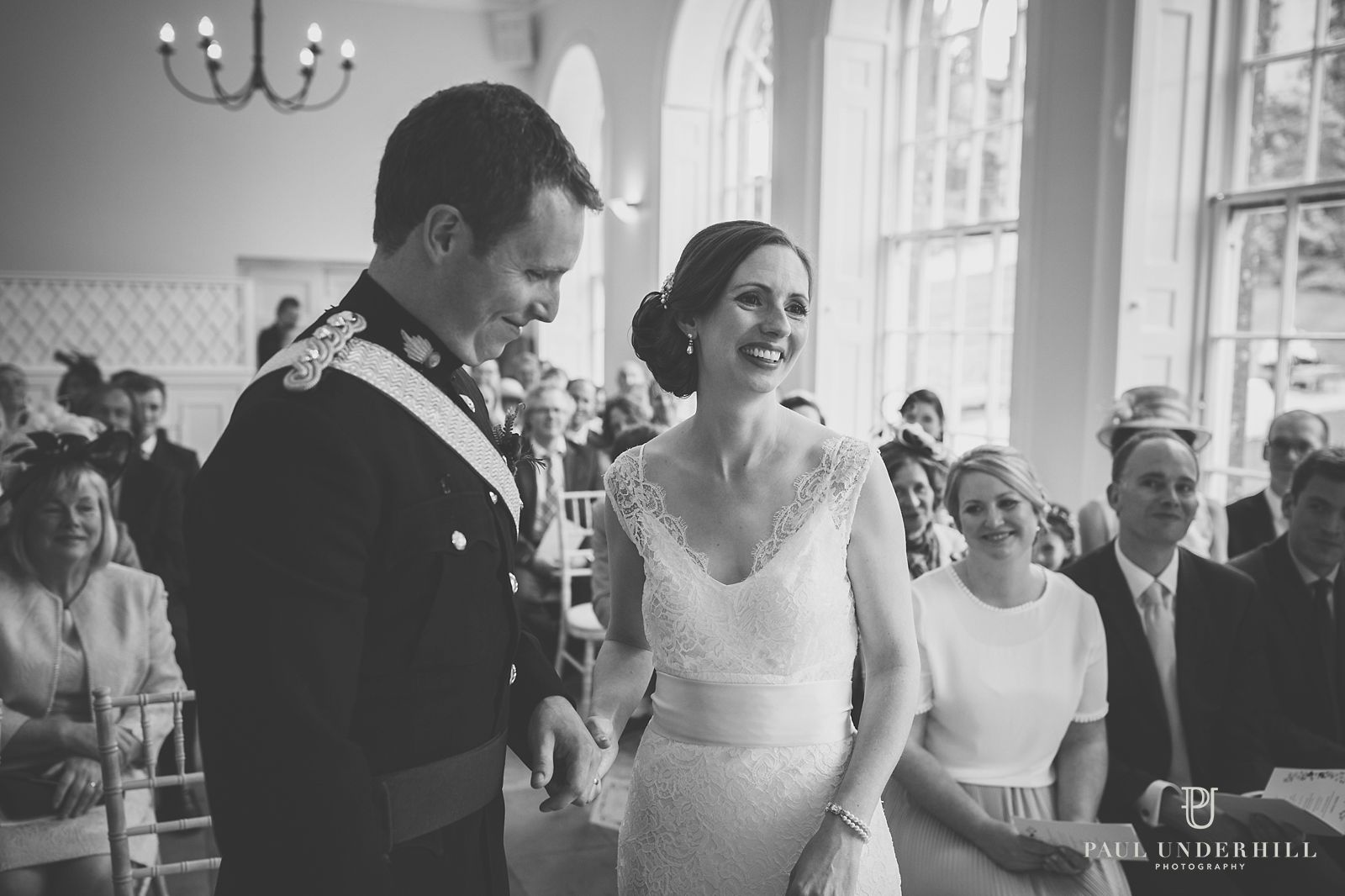 Marriage ceremony Sherborne castle