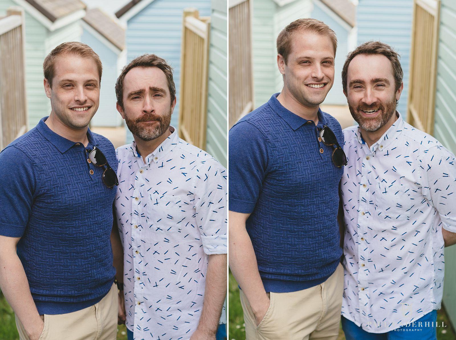 Pre-wedding shoot gay couple
