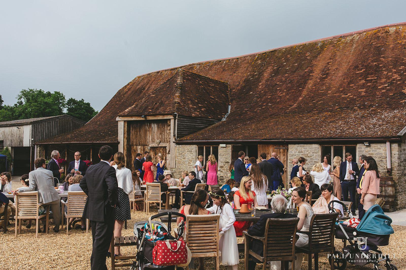 Stockbridge Farm Barn in Dorset