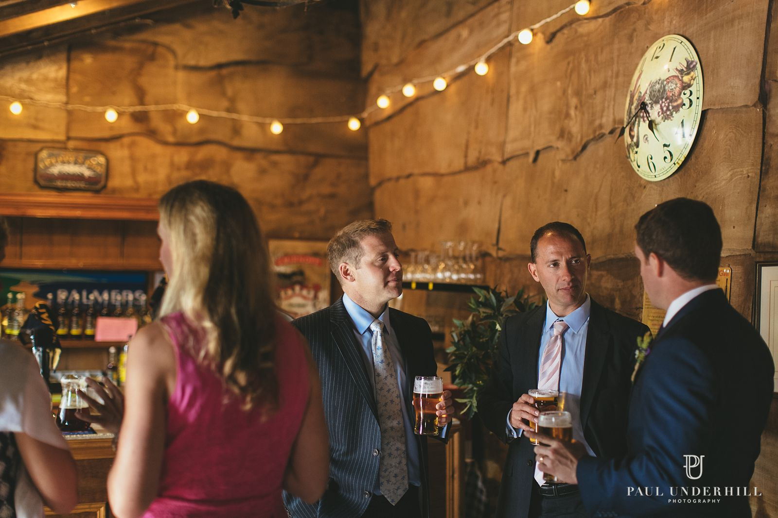 Stockbridge Farm Barn wedding reception
