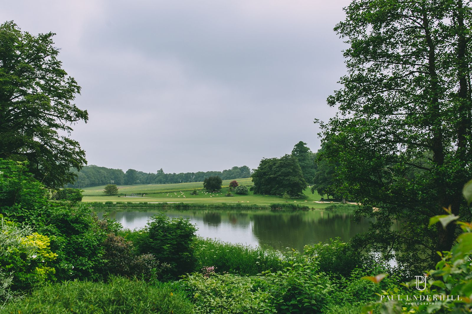 Views over Sherborne Castle lake