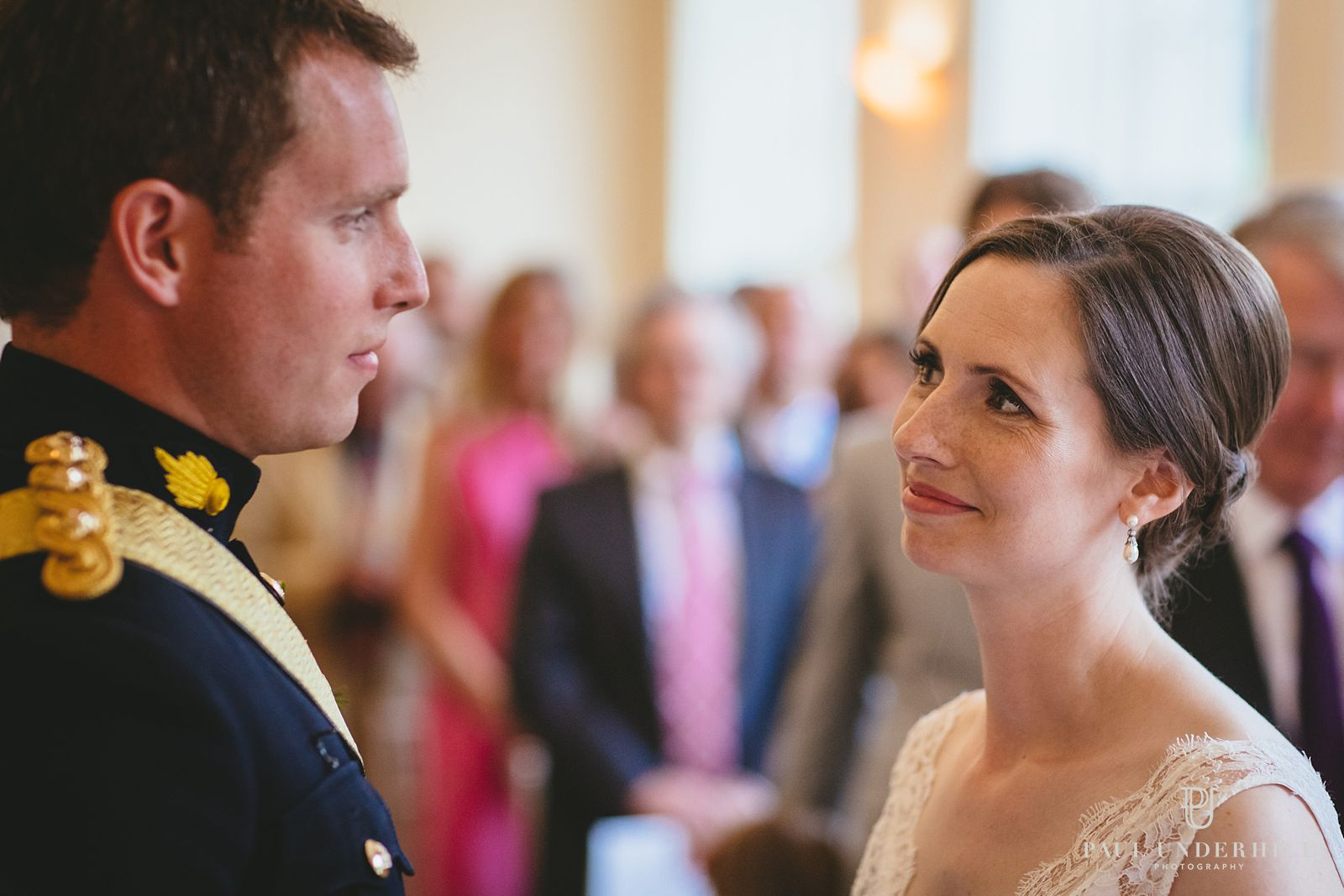 Wedding at Orangery suite Sherborne castle