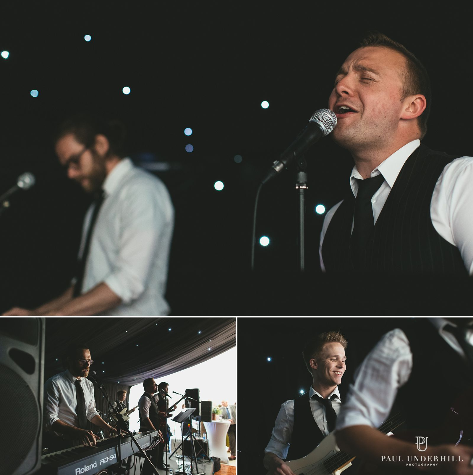 Wedding band performing in Dorset