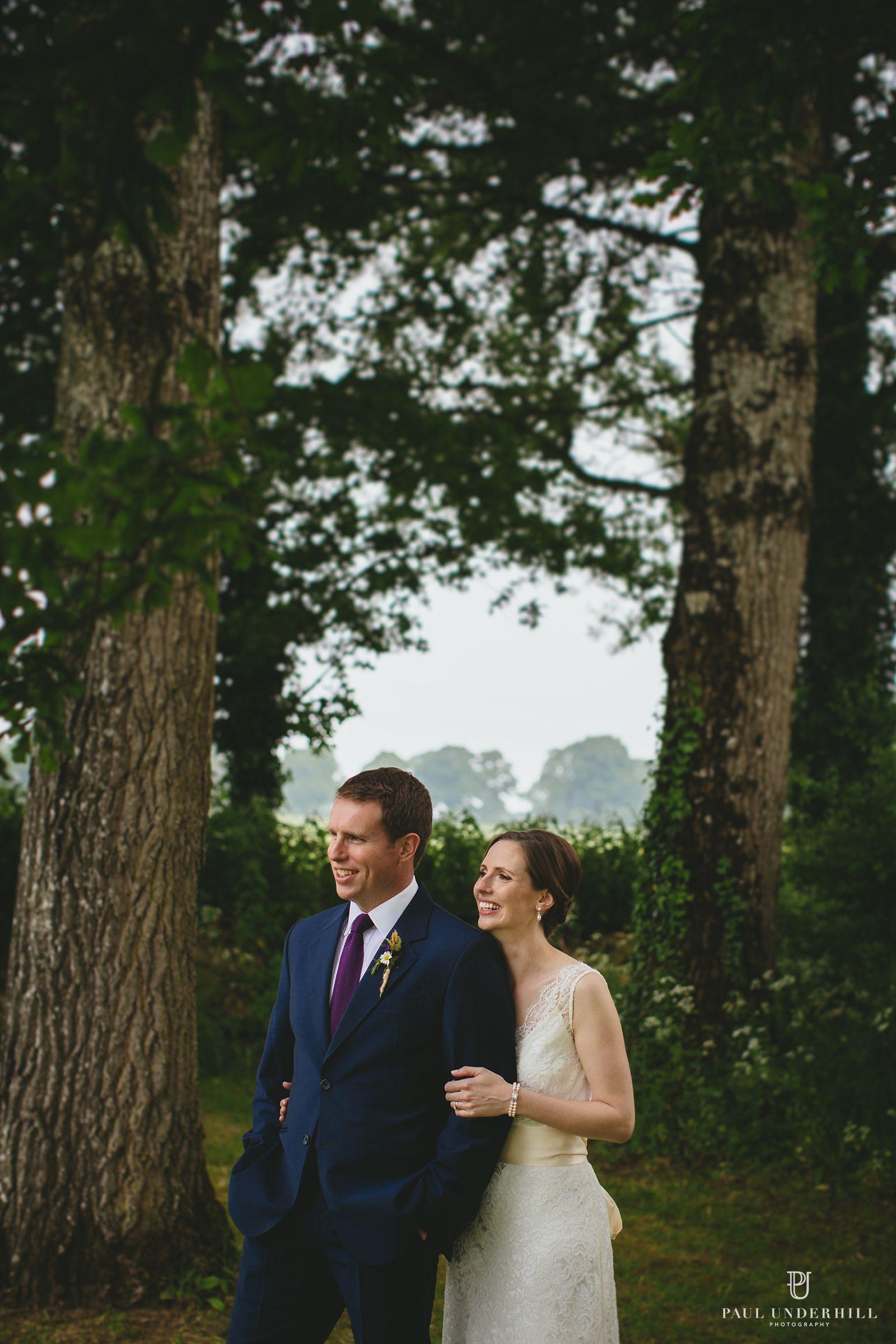 Wedding portrait Stockbridge Farm Barn