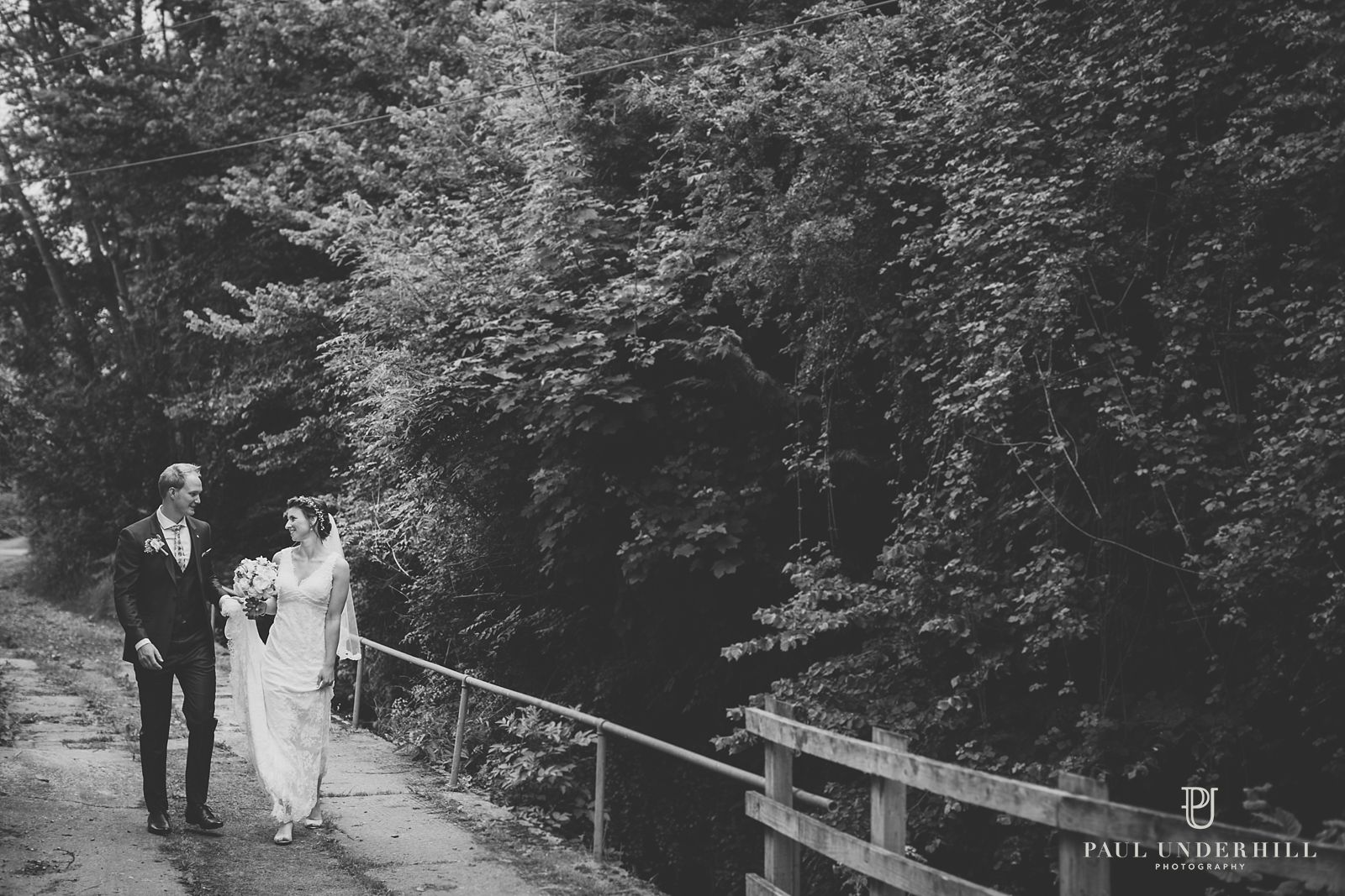 Wedding portrait in Dorset