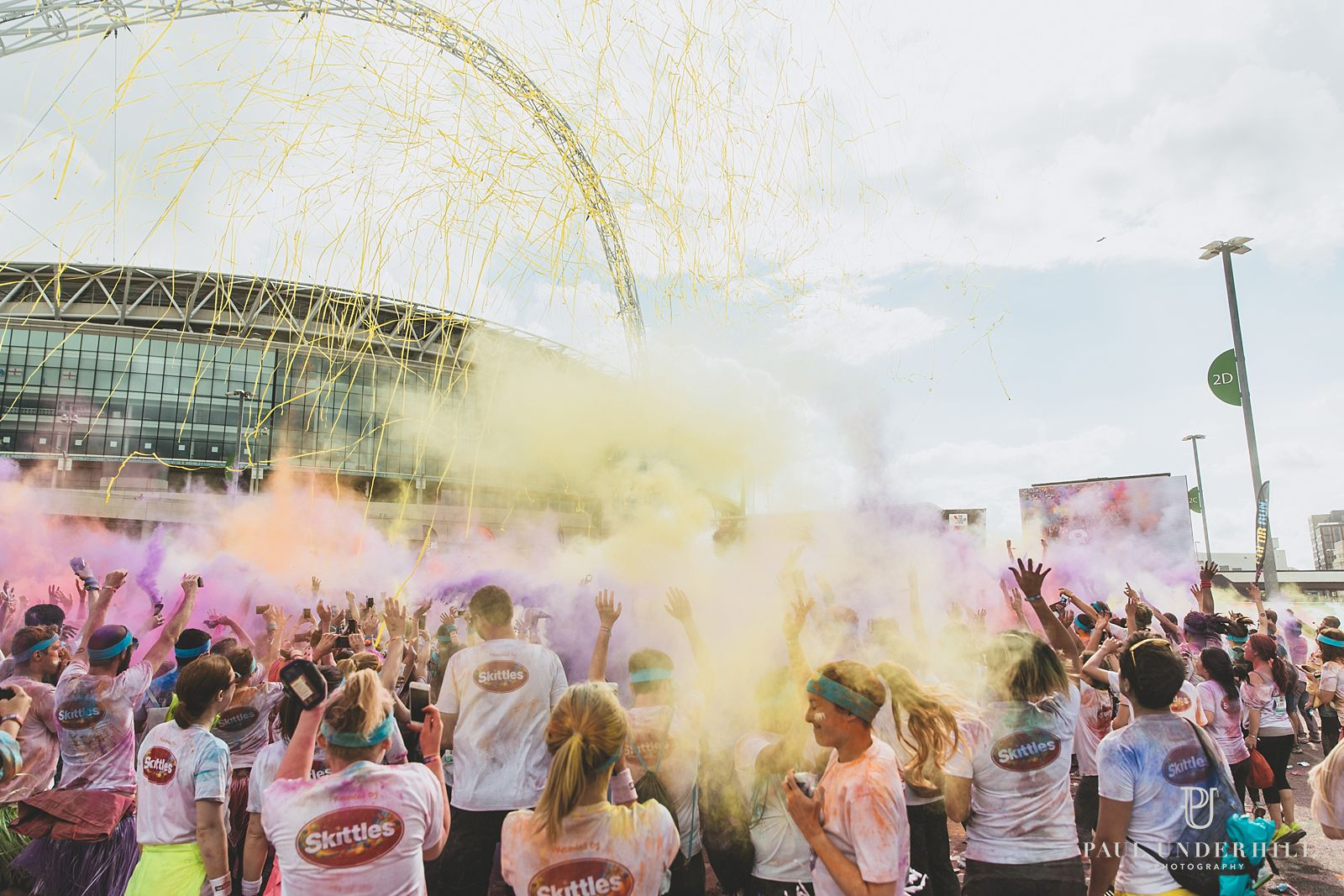 Color Run at Wembley Park London