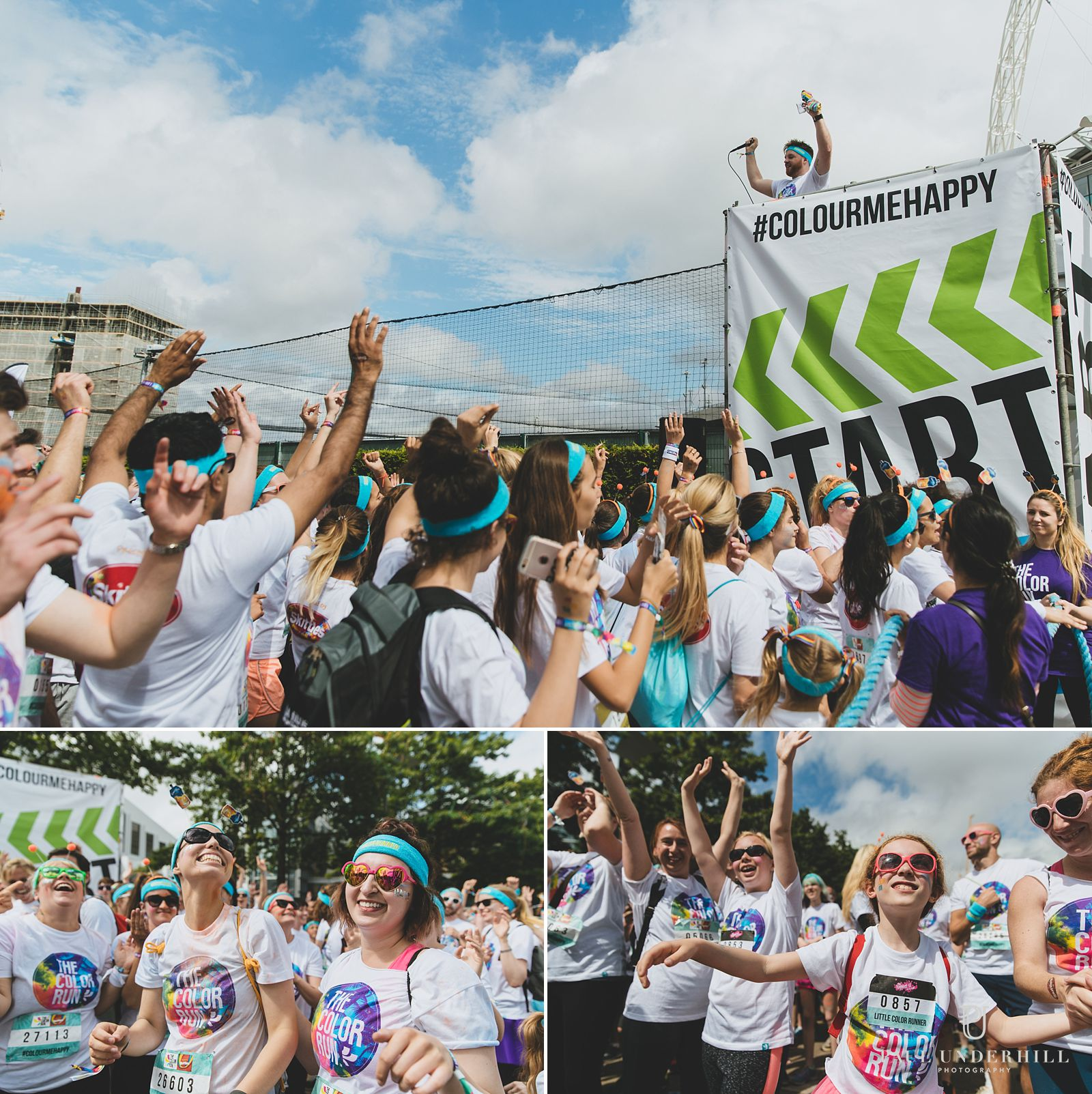 Colour Run at Wembley Park London