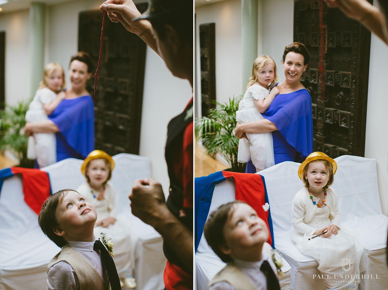 Creaitve wedding documentary