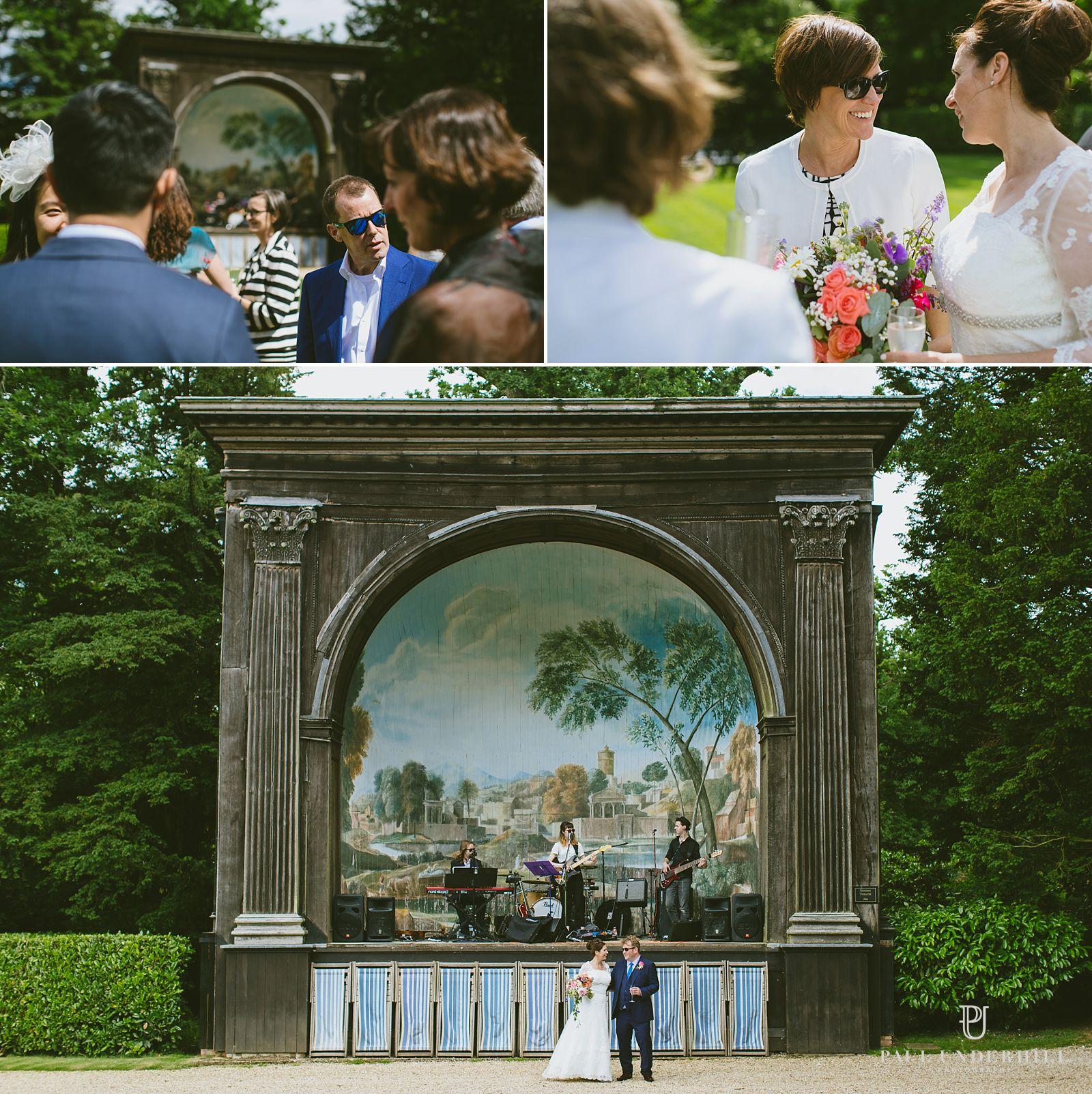 Documentary photography of Wiltshire wedding