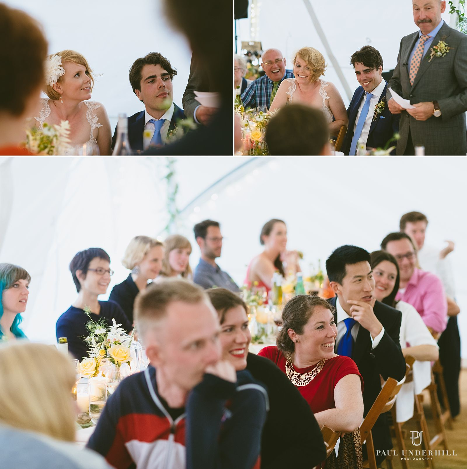 Documentary photography of wedding reception