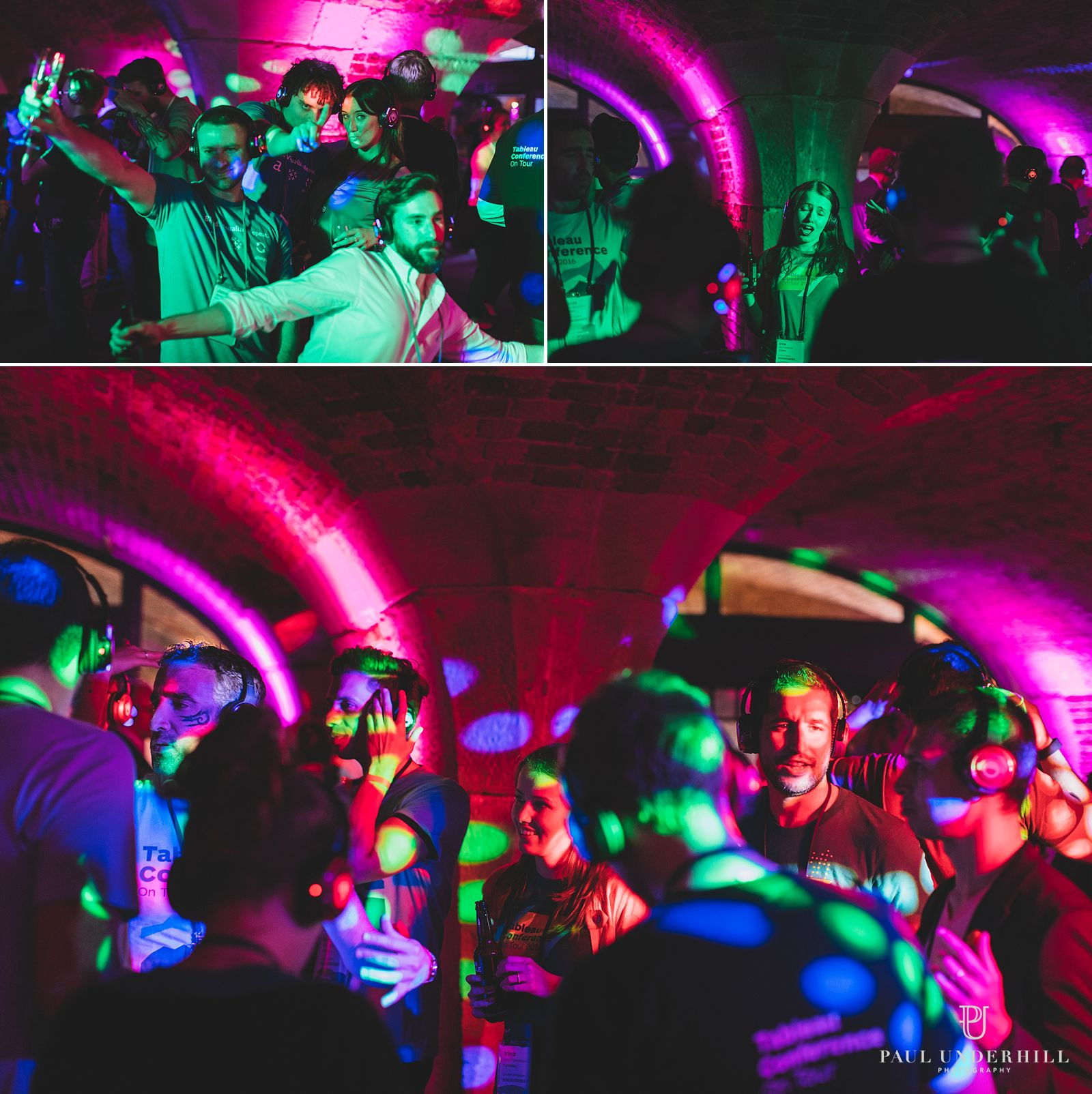Event photography silent disco