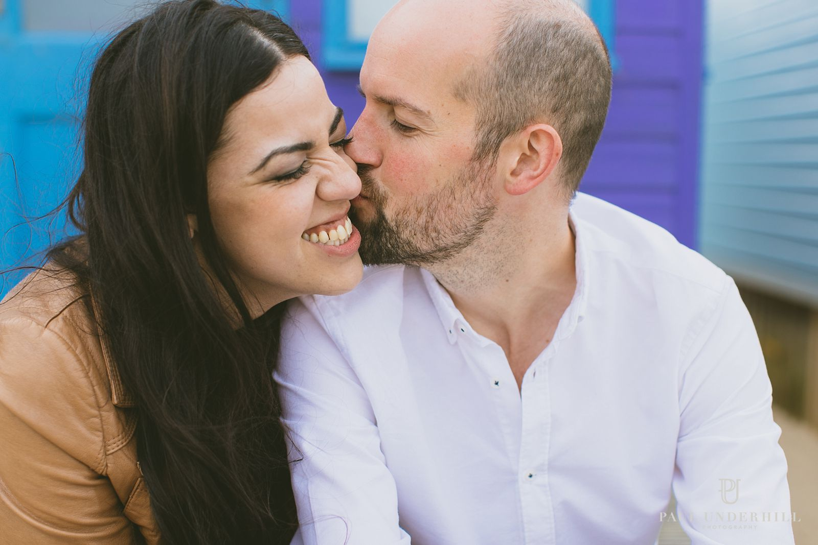 Fun couple portrait