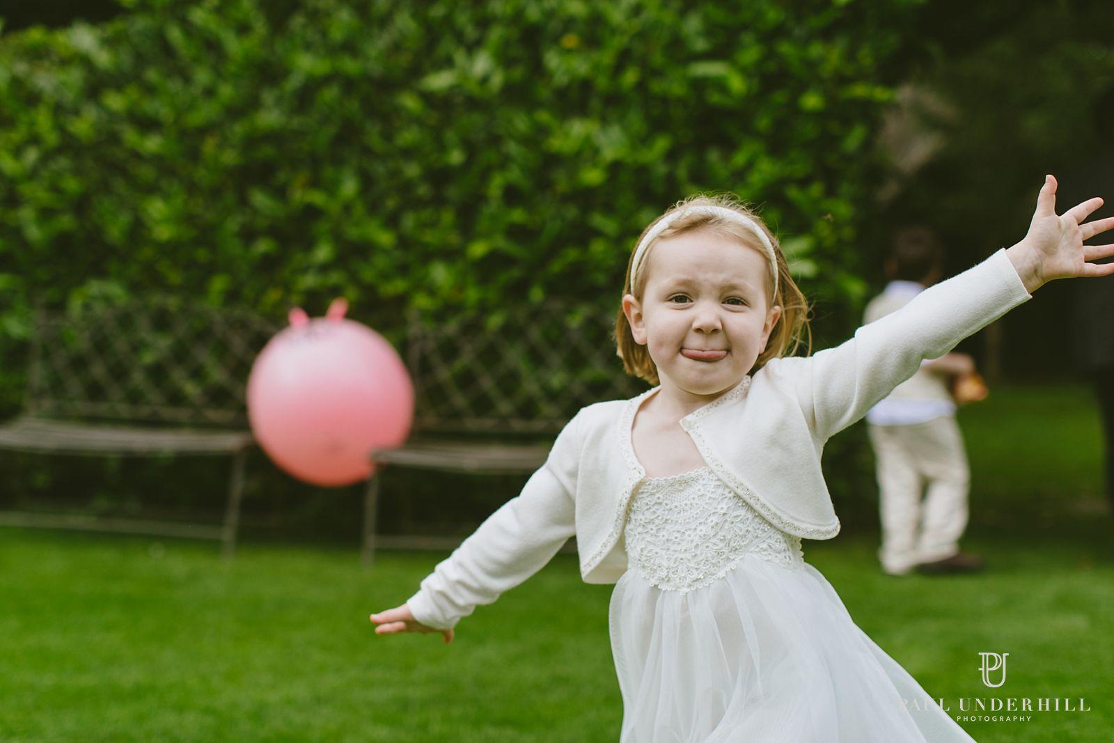 Fun times Wiltshire wedding