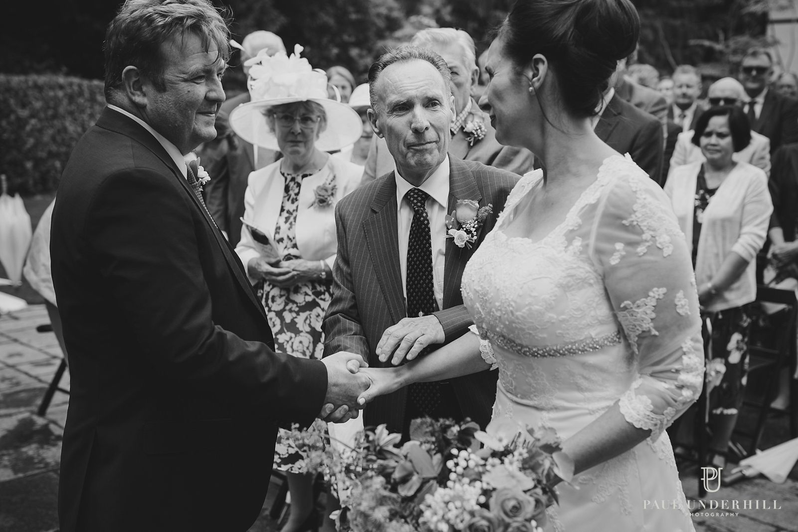 Larmer Tree gardens marriage ceremony
