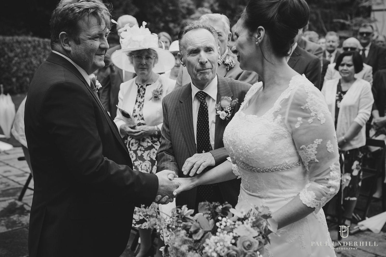 Larmer Tree gardens marriage ceremony