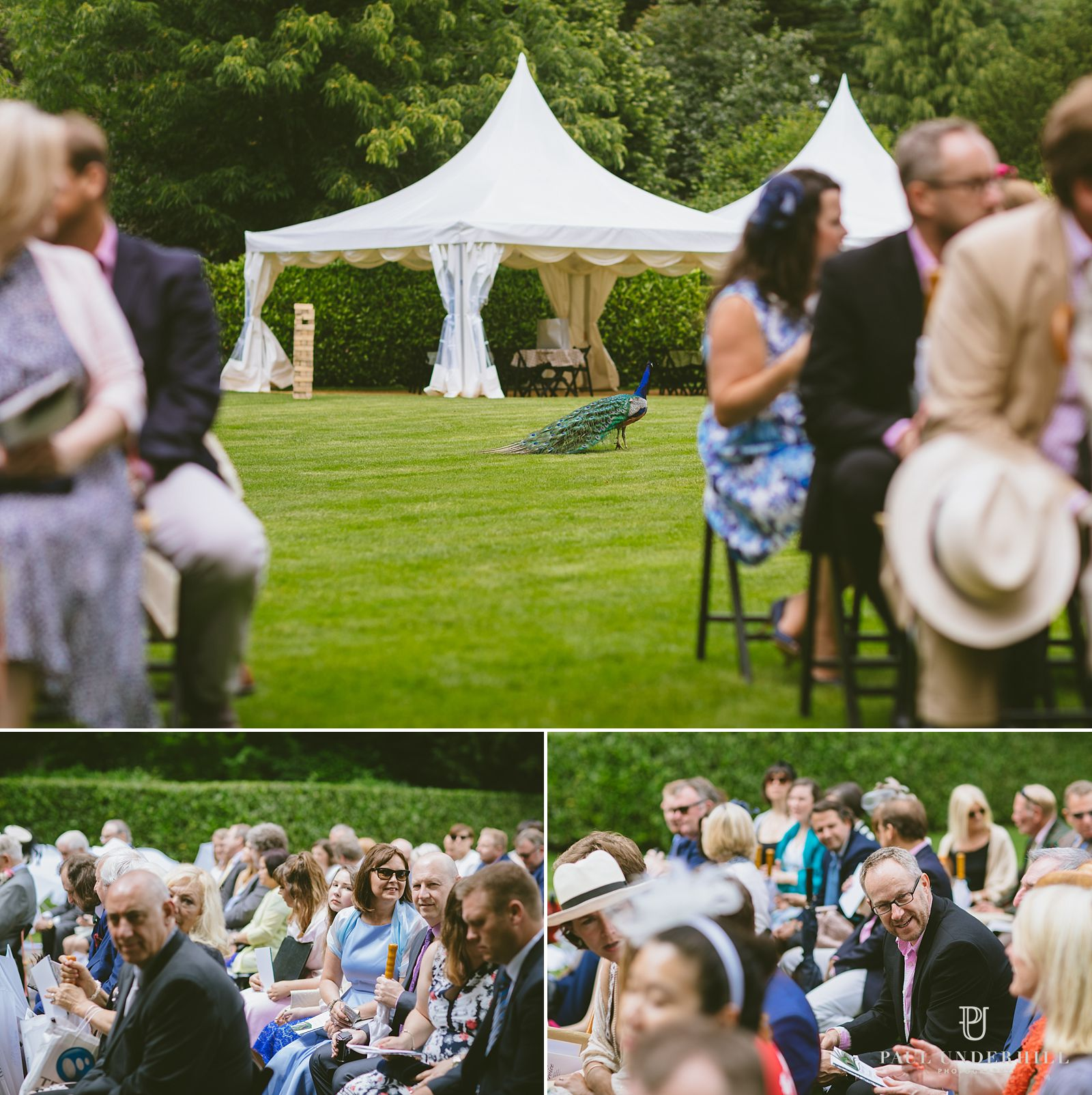 Larmer Tree gardens outdoor wedding