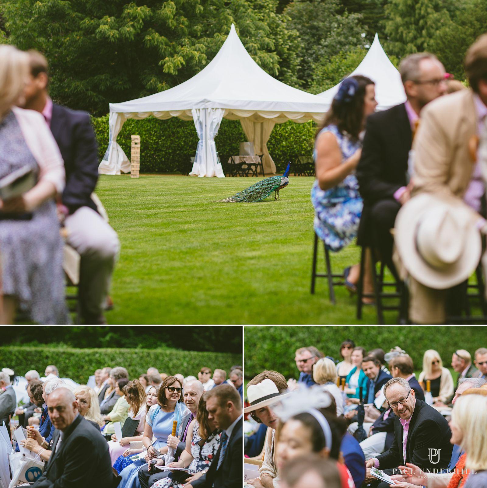 Larmer Tree gardens outdoor wedding