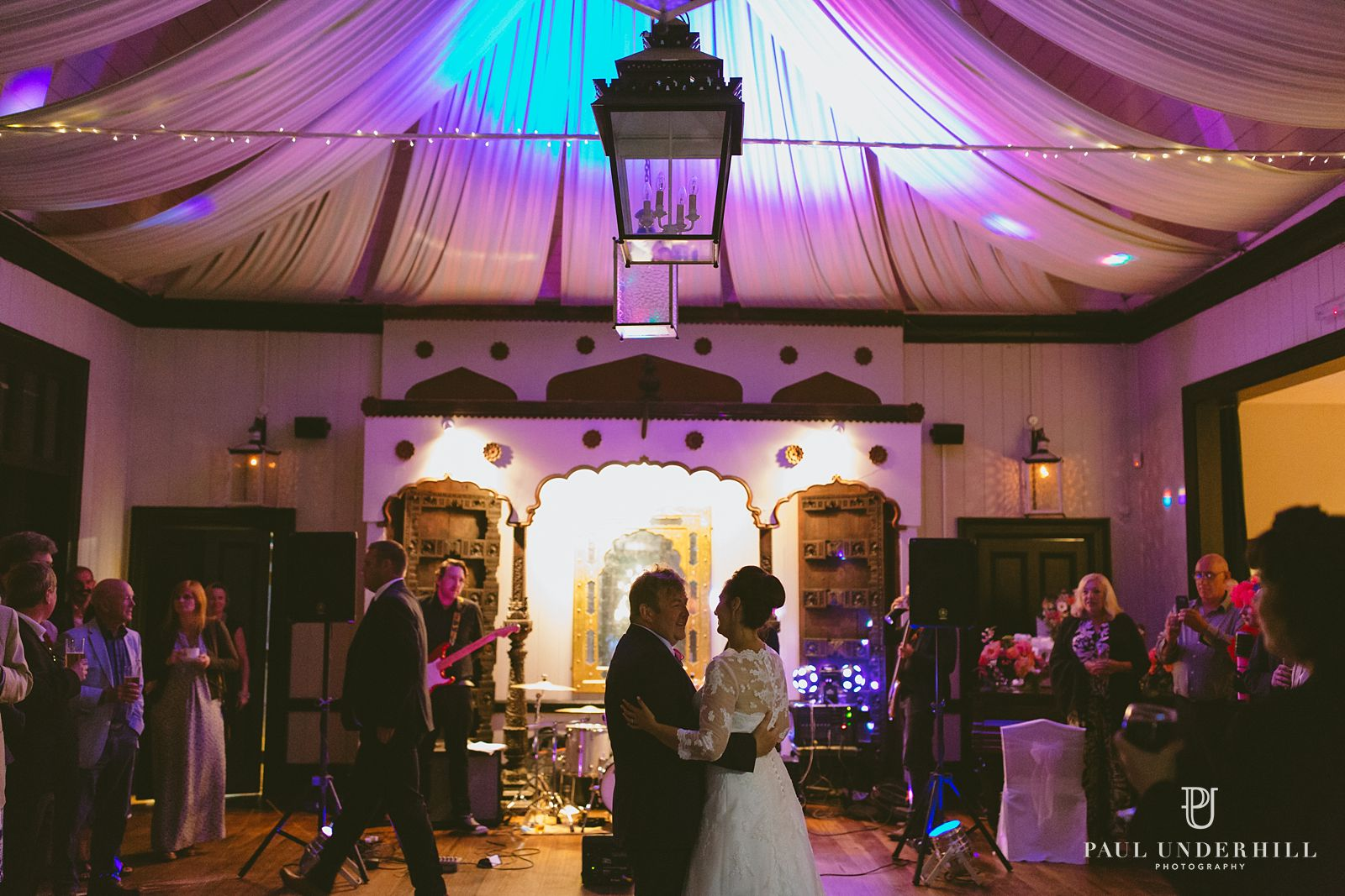 Larmer Tree gardens wedding first dance