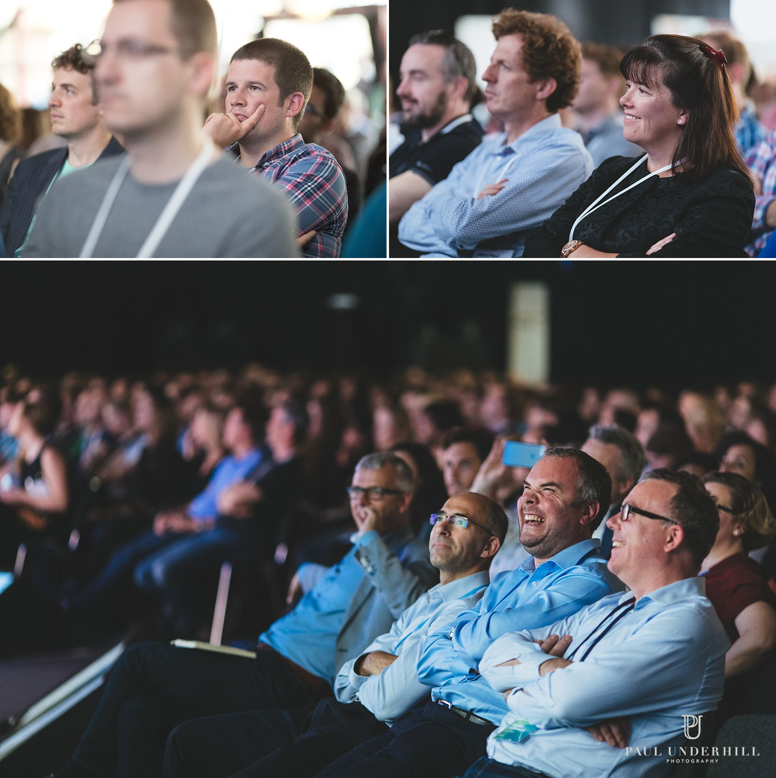 Lifestyle photography of conference