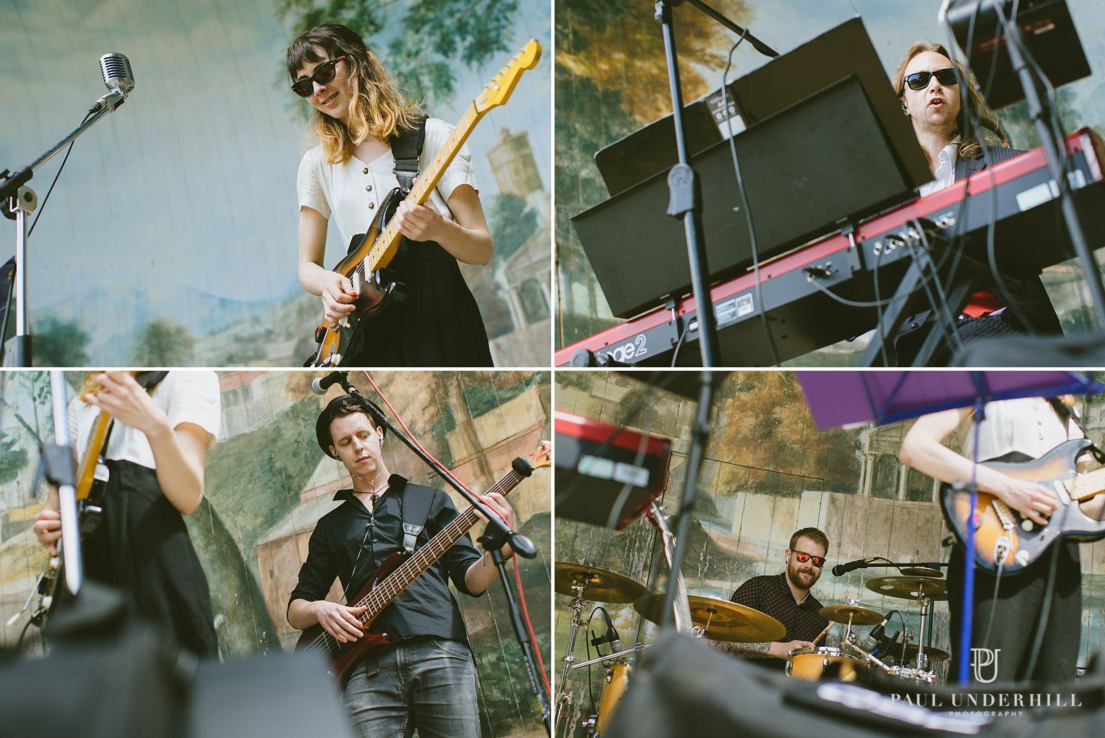 Live music wedding band Wiltshire